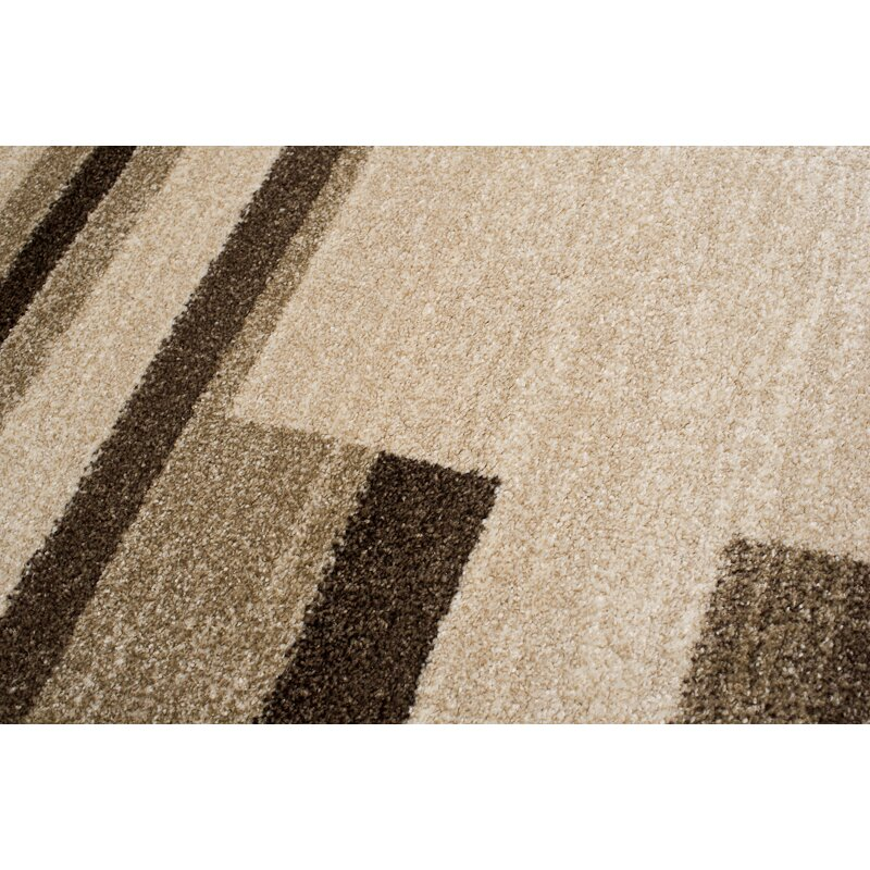 Home & Haus Barite Beige Area Rug  Wayfair UK