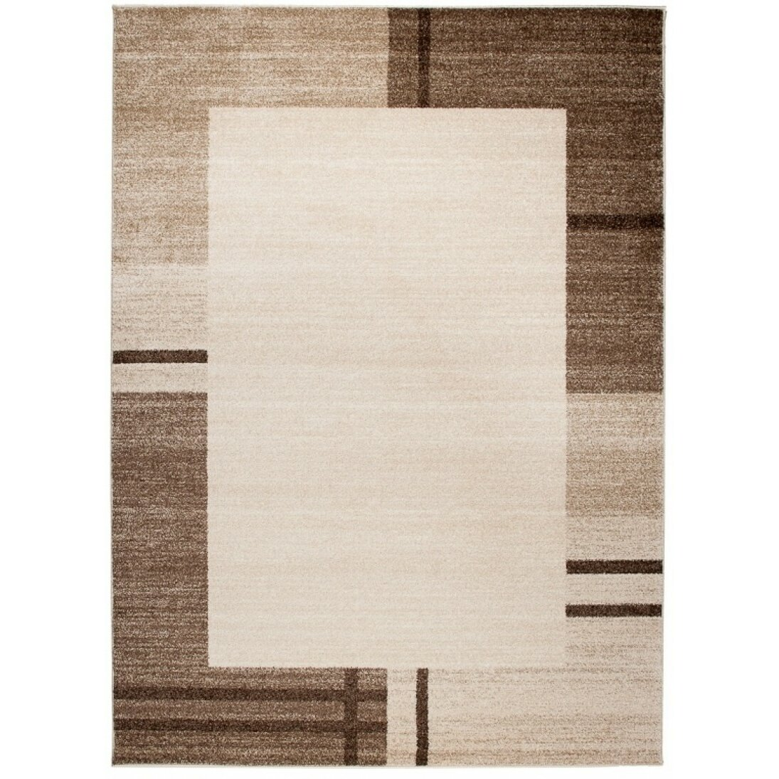 Home U0026 Haus Barite Dark Beige Area Rug Wayfair UK
