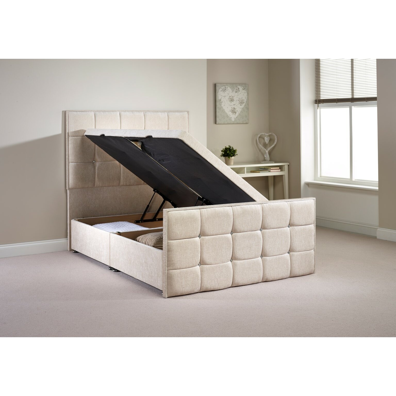 Home Haus Carrow Divan Base Wayfair Uk