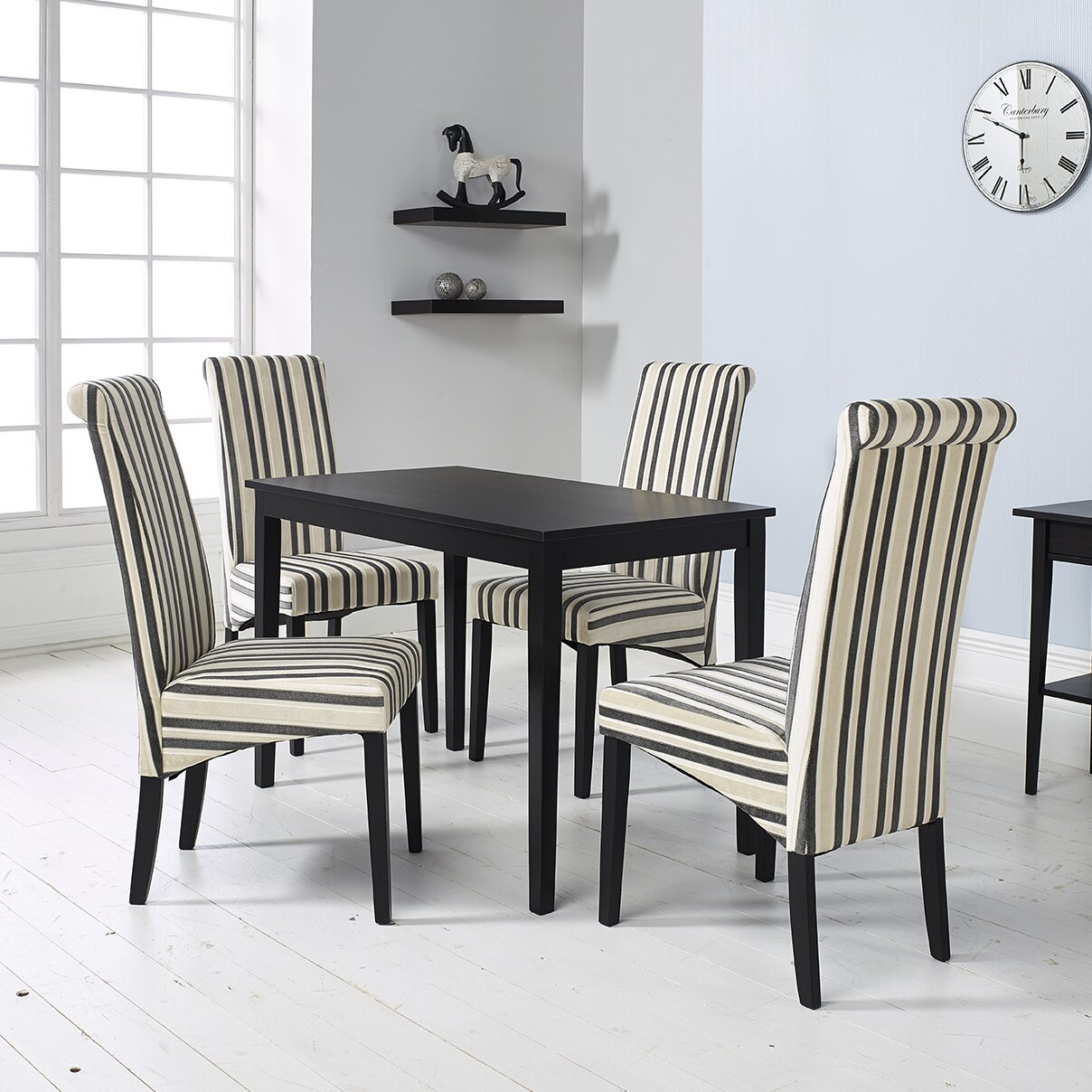 Home Haus Solomon Dining Table And 4 Chairs Reviews Wayfair Uk