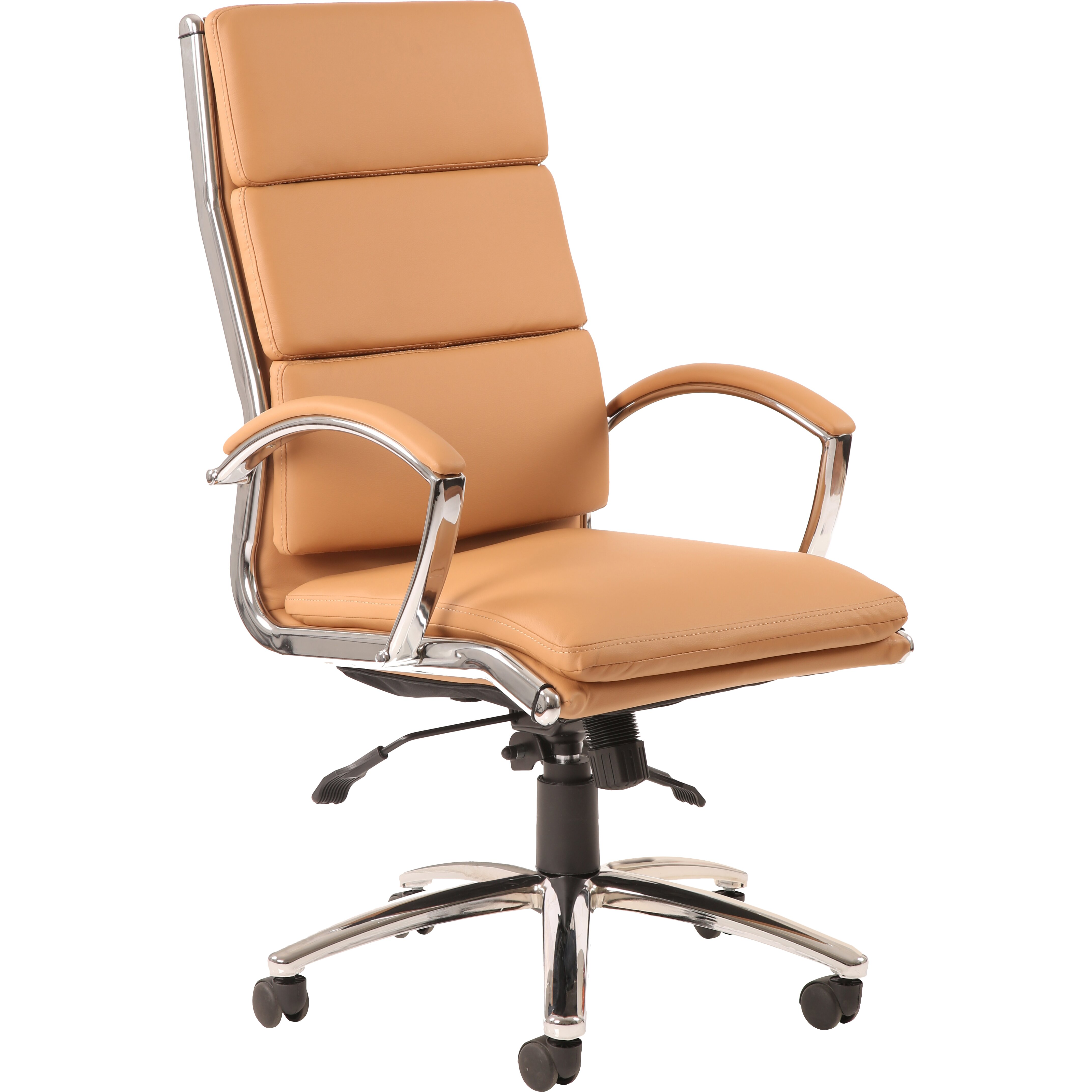Home & Haus Alcatraz High Back Leather Desk Chair