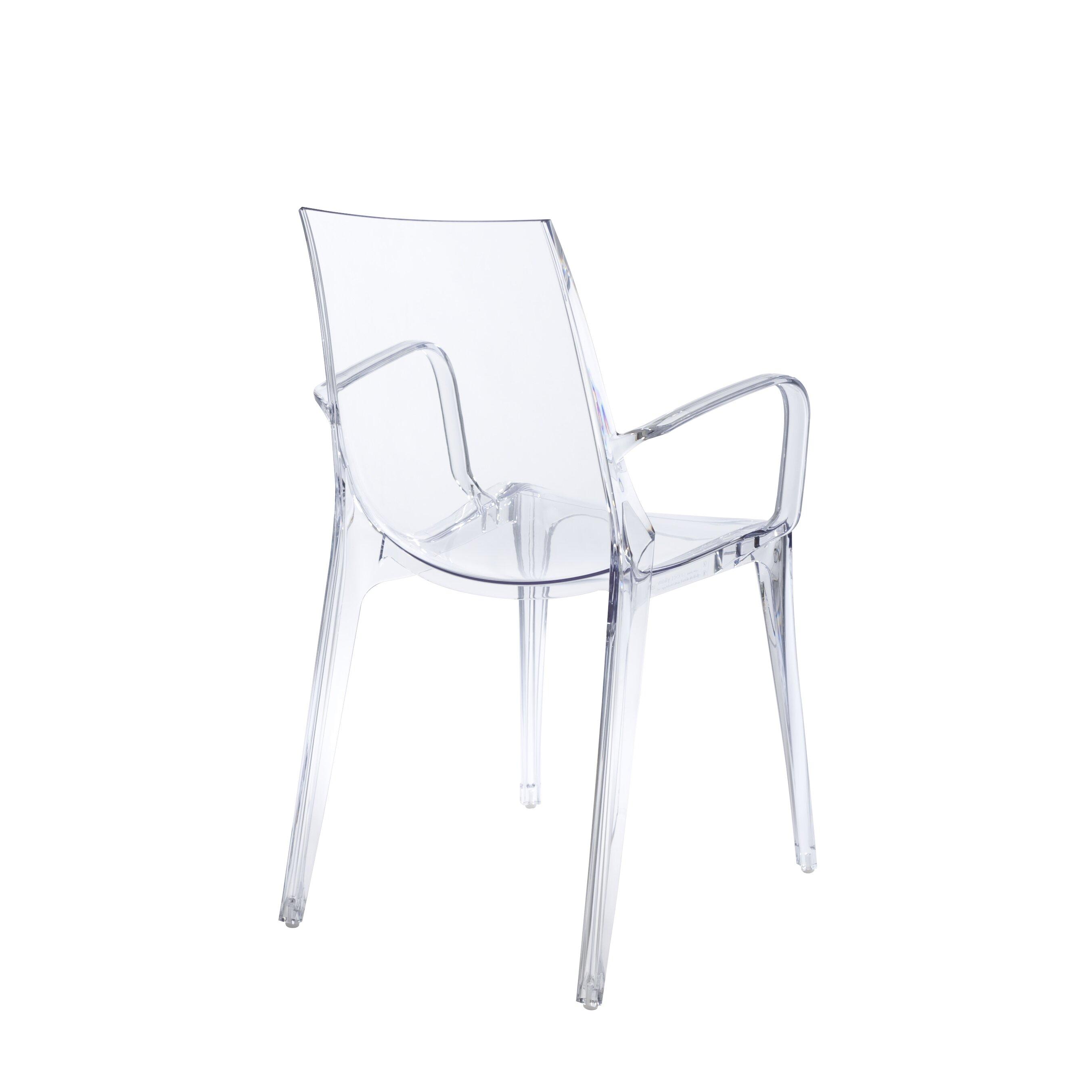 ItalModern Vanity Arm Chair & Reviews | Wayfair