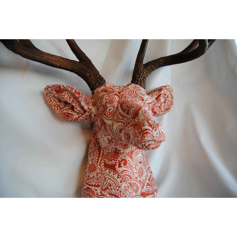 Near And Deer Faux Taxidermy Fabric Deer Head Wall D 233 Cor