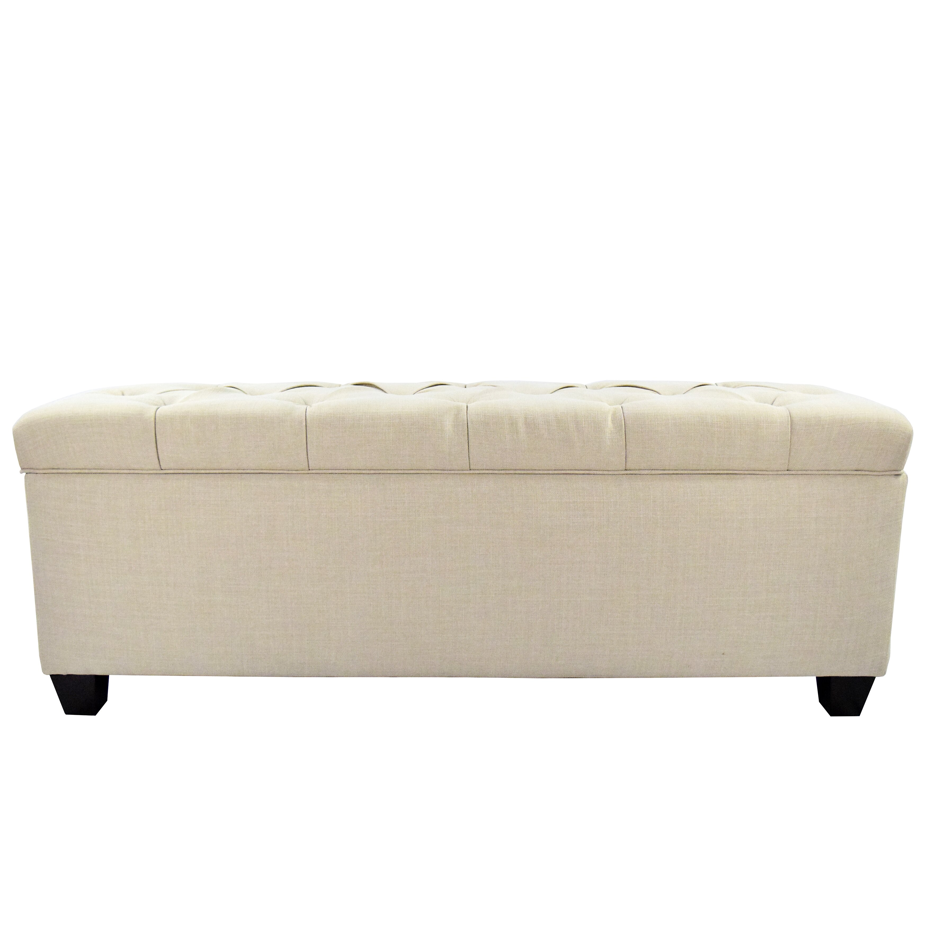 The Sole Secret Sole Secret Upholstered Storage Bench Reviews