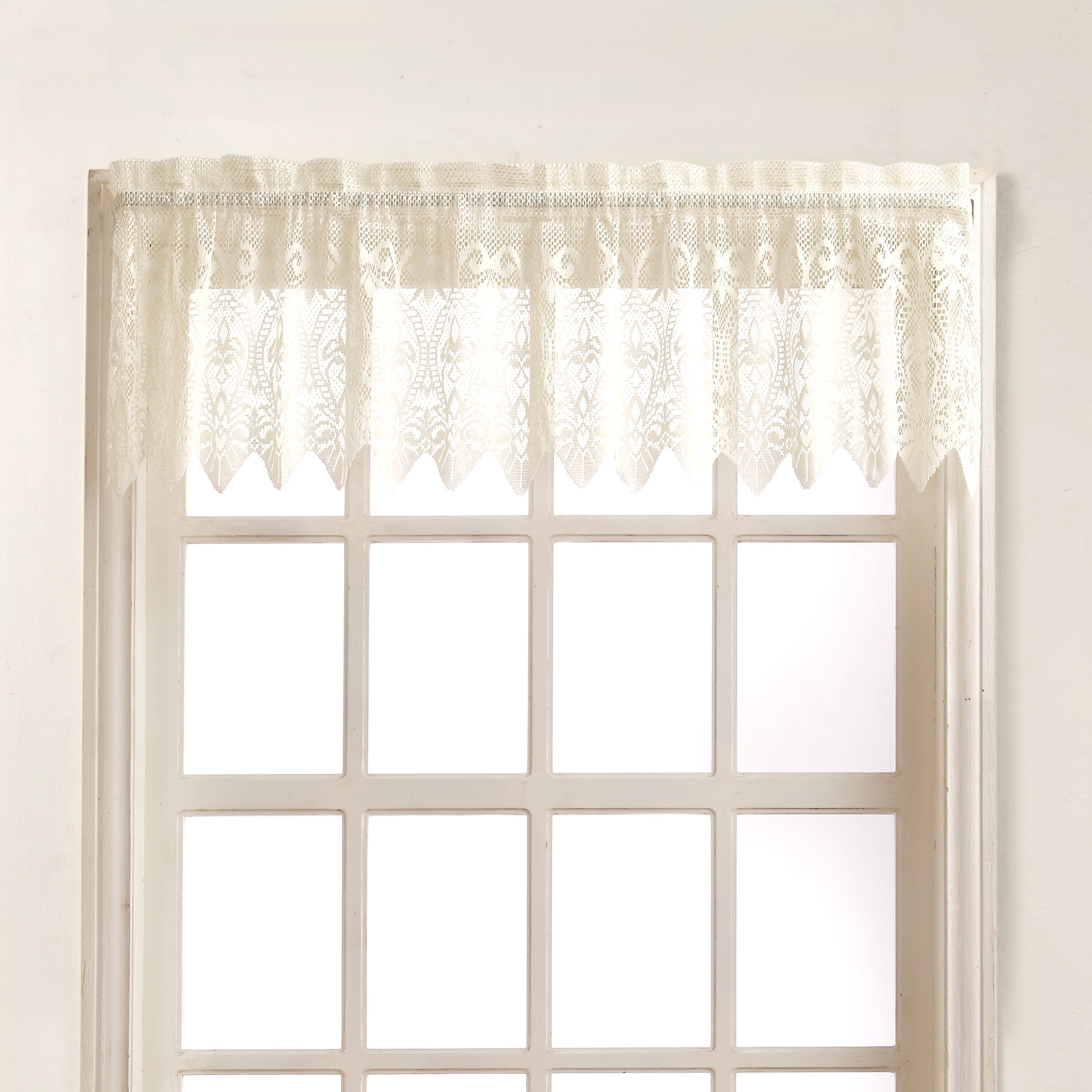 Curtain with valance set Decorate the house with beautiful curtains