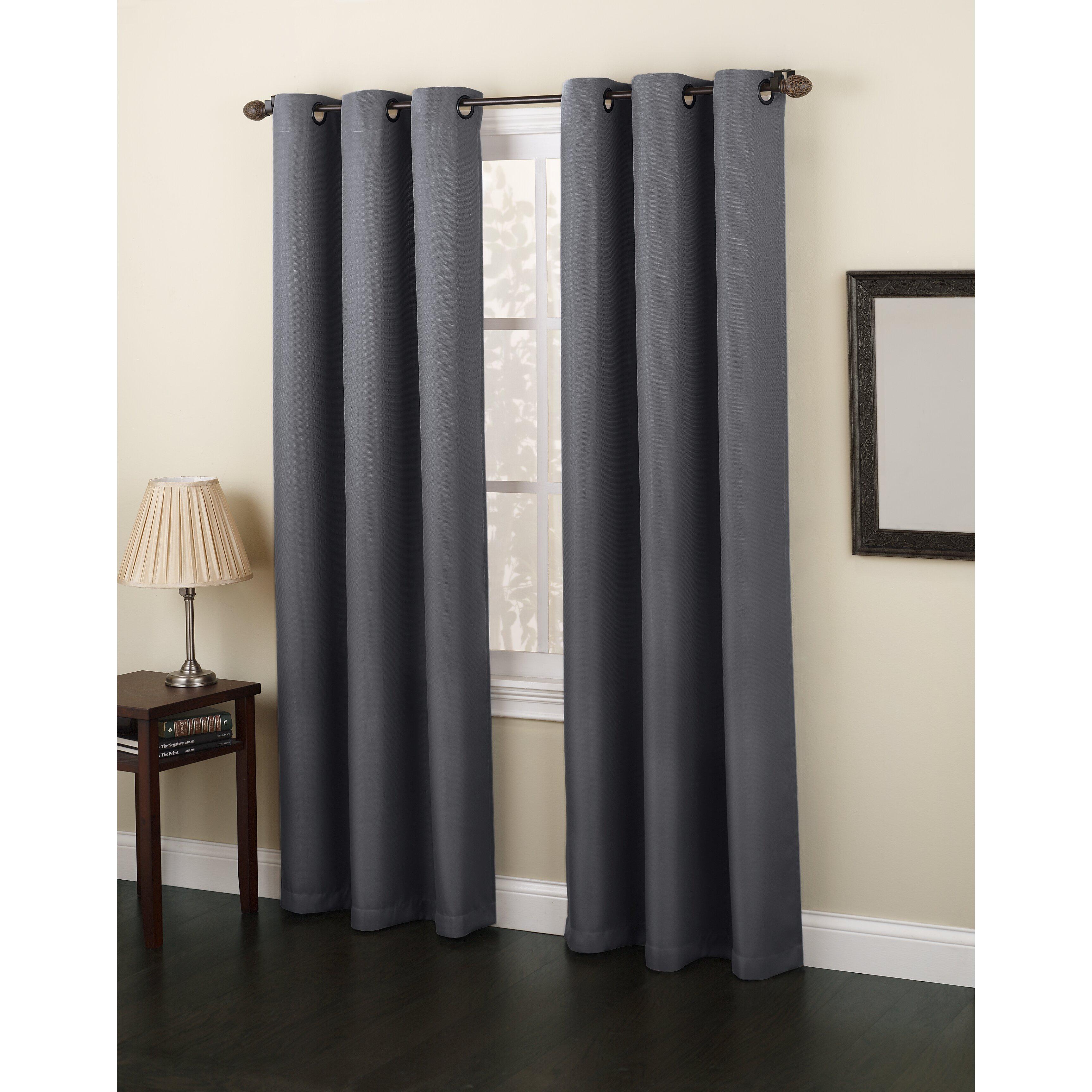 No 918 Montego Single Curtain Panel Amp Reviews Wayfair