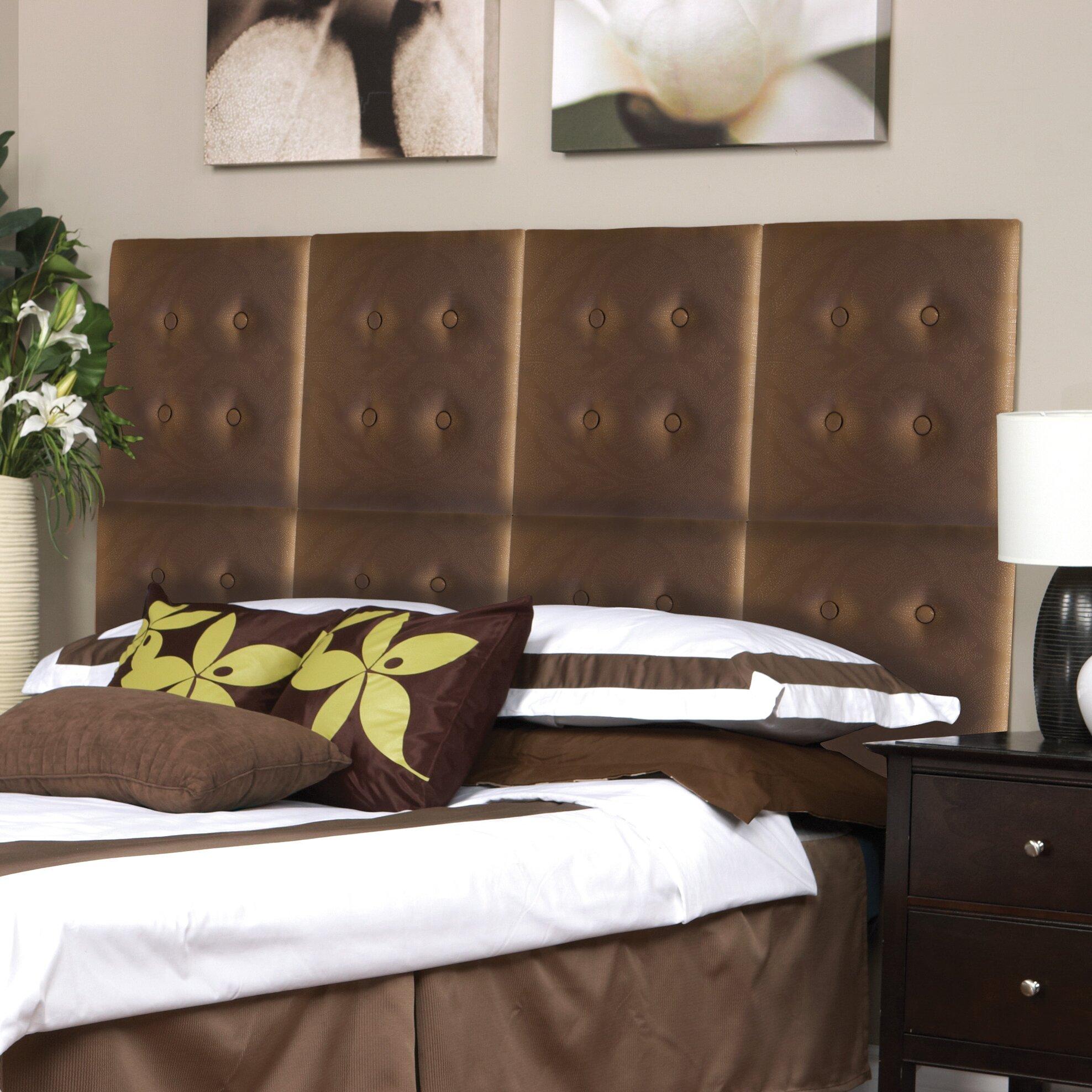 nexxt design luxe upholstered headboard reviews wayfair. Black Bedroom Furniture Sets. Home Design Ideas