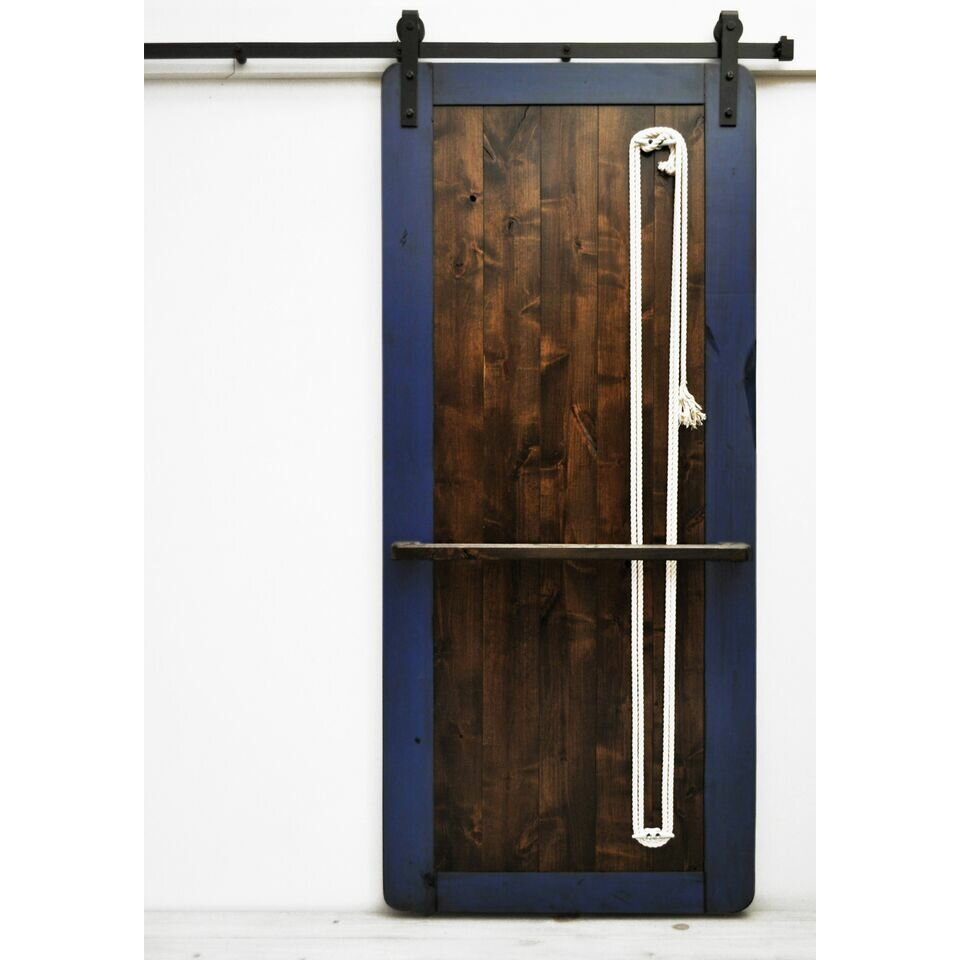 Where To Buy Interior Barn Doors Dogberry Collections Nautilus Wood 1 Panel Interior Barn Rlp