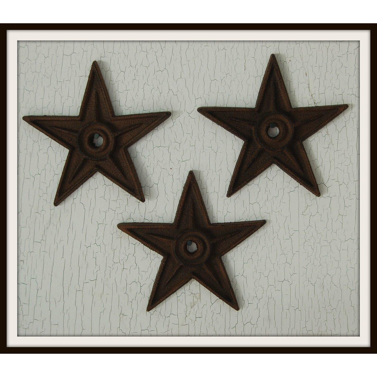 Glass Star Wall Decor : Craft tex small star wall d?cor reviews wayfair