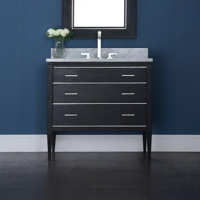 ryvyr manhattan 37 single bathroom vanity cabinet set reviews