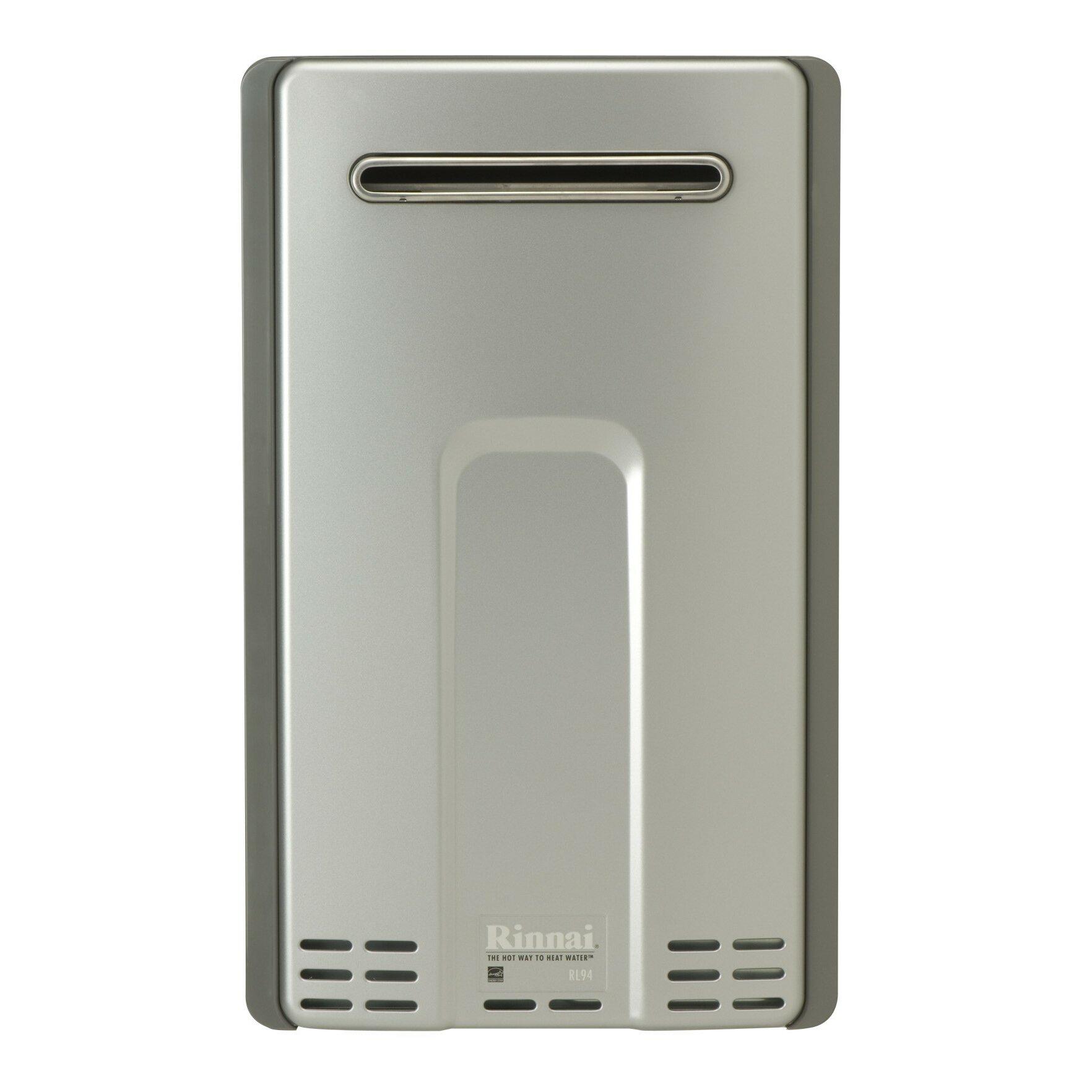 rinnai luxury 9 4 gpm liquid nature gas tankless water heater reviews wayfair. Black Bedroom Furniture Sets. Home Design Ideas