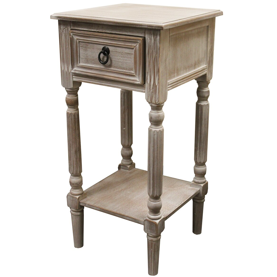 Ec world imports urban designs 1 drawer nightstand for End table patterns