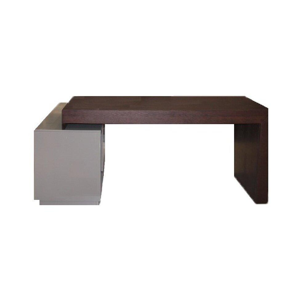 J m furniture modern office desk reviews wayfair for Modern office furniture desk