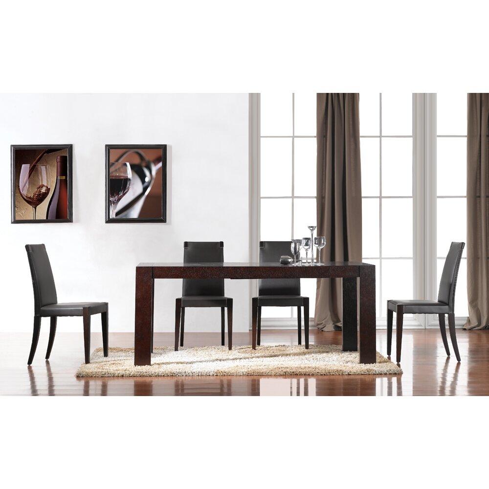 J M Furniture Colibri 5 Piece Dining Set Reviews