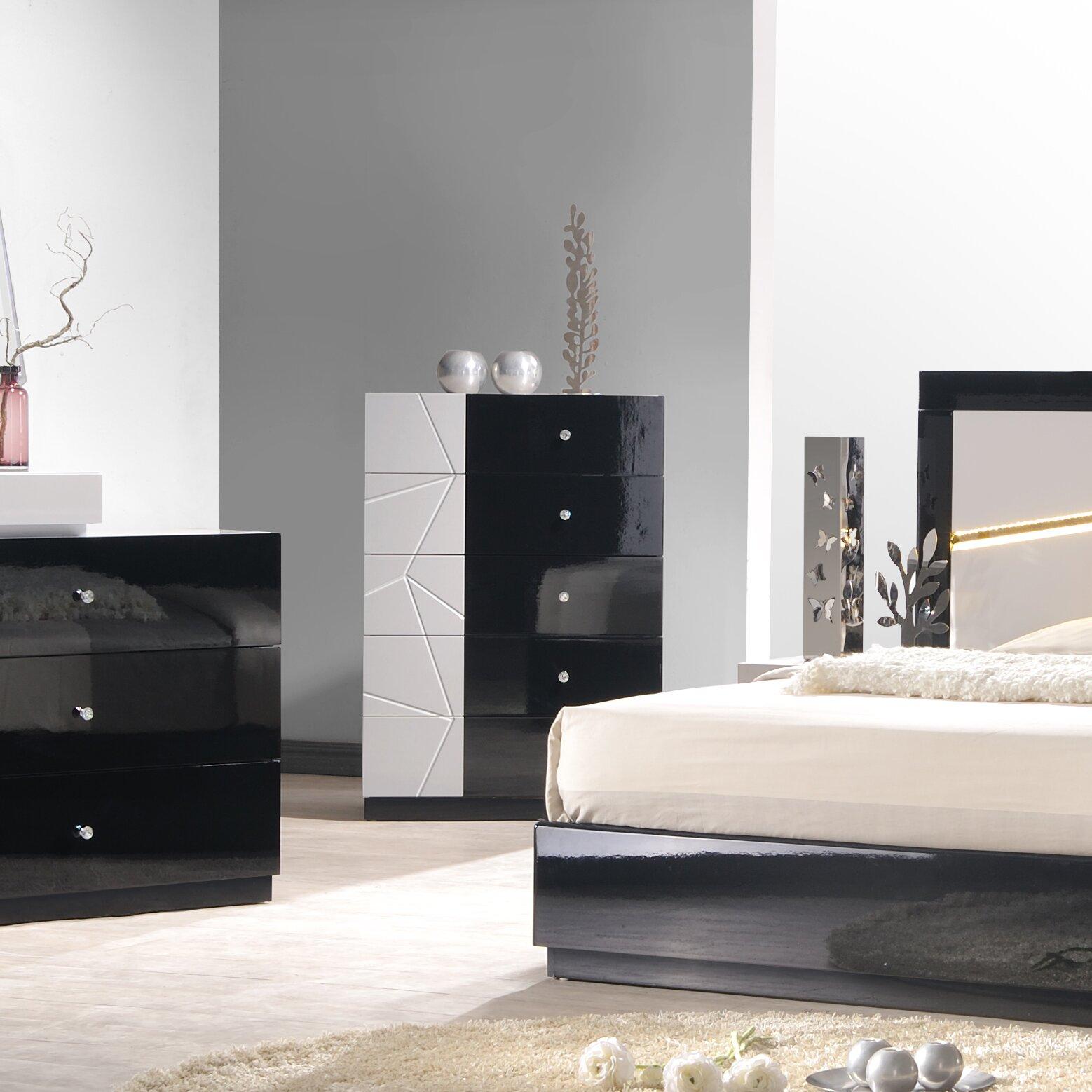 J m furniture turin platform customizable bedroom set for J m bedroom furniture