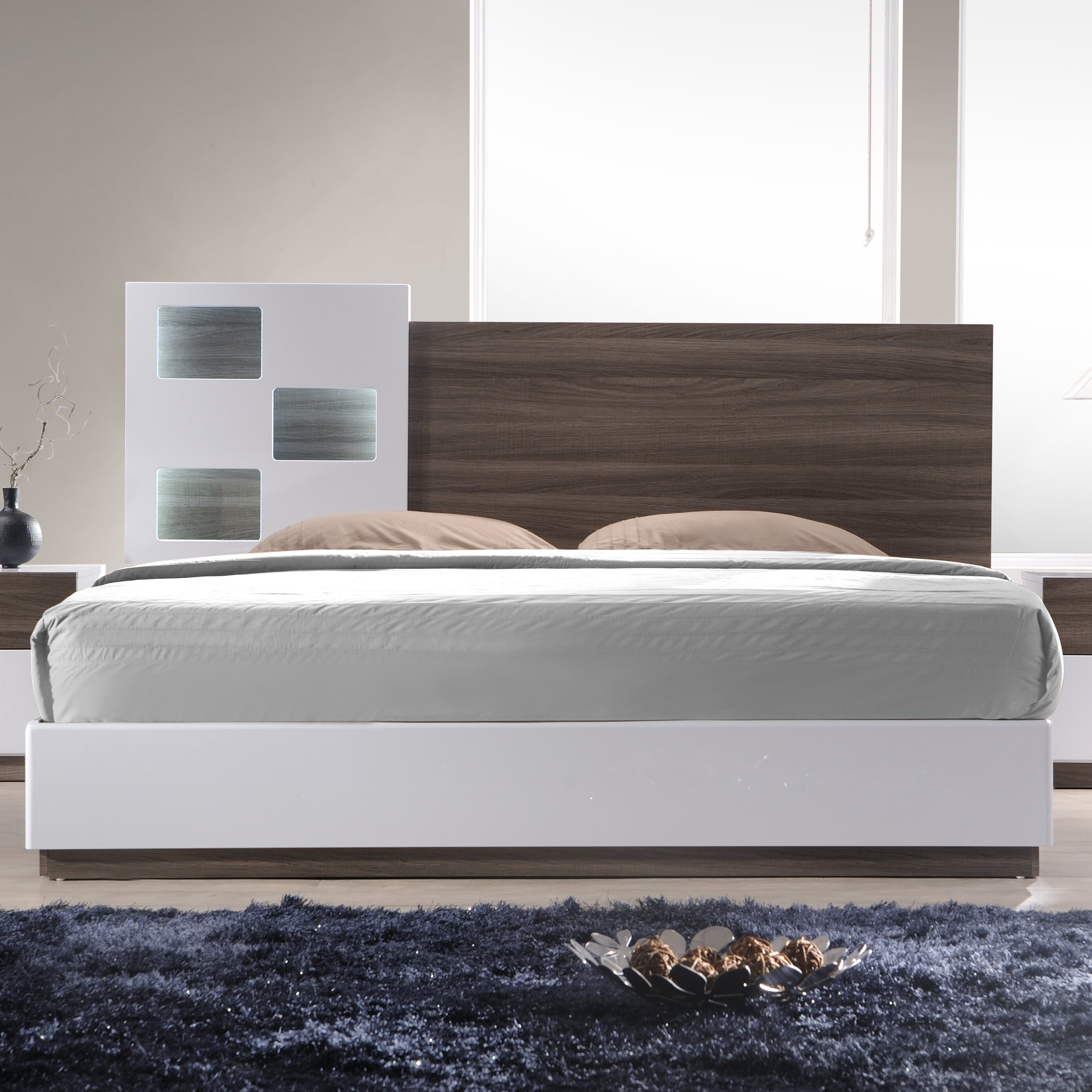 J M Furniture Sanremo Platform Bed Reviews Wayfair