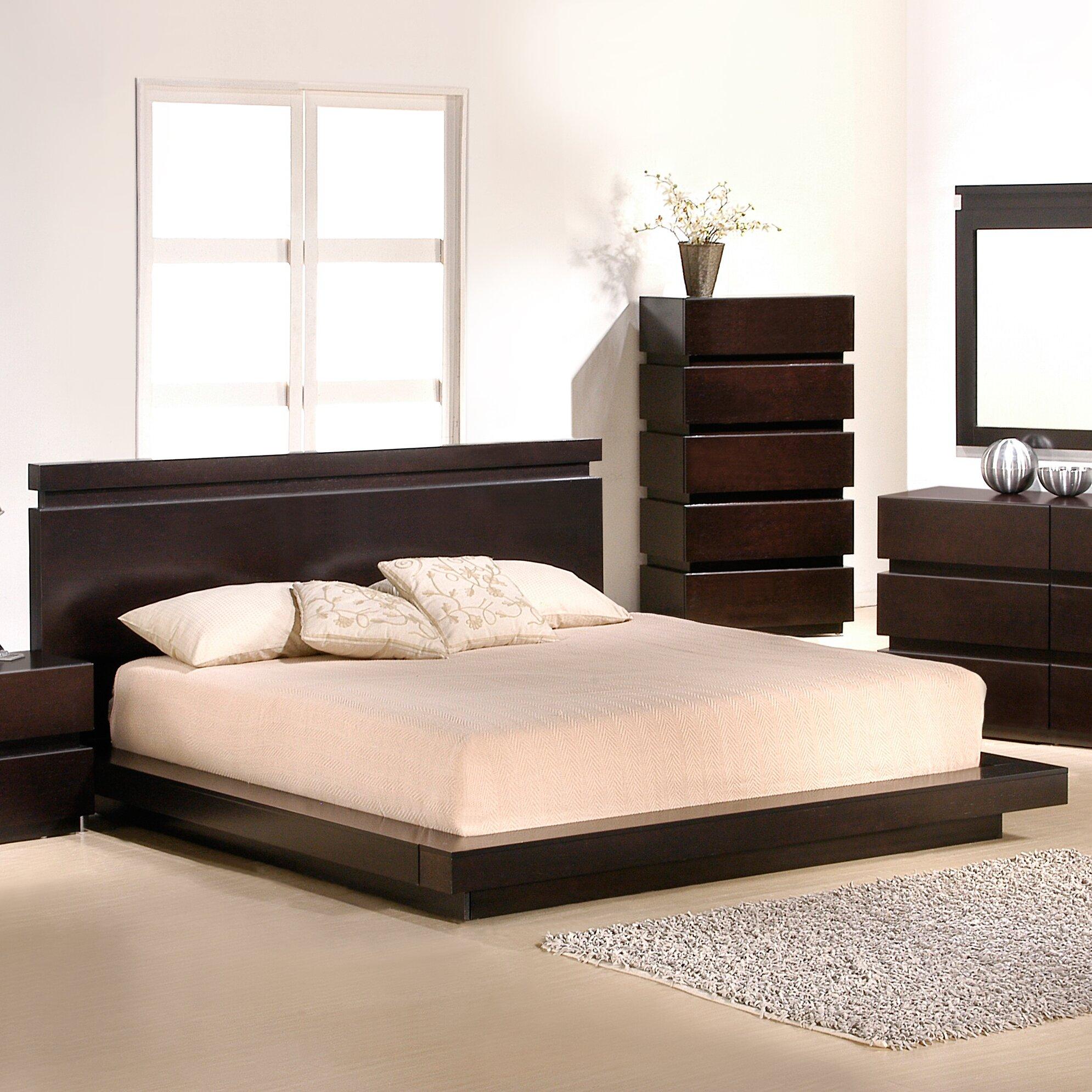 Platform Bedroom Sets Bedroom Colours As Per Vastu Bedroom Decorating Ideas Plum Bedroom Lighting Next: J&M Furniture Knotch Platform Bed & Reviews