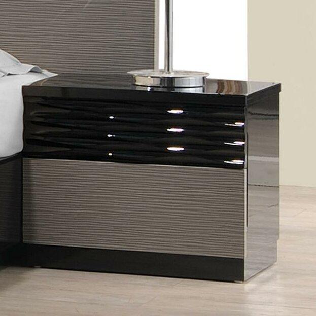 J M Furniture Roma Nightstand Reviews Wayfair