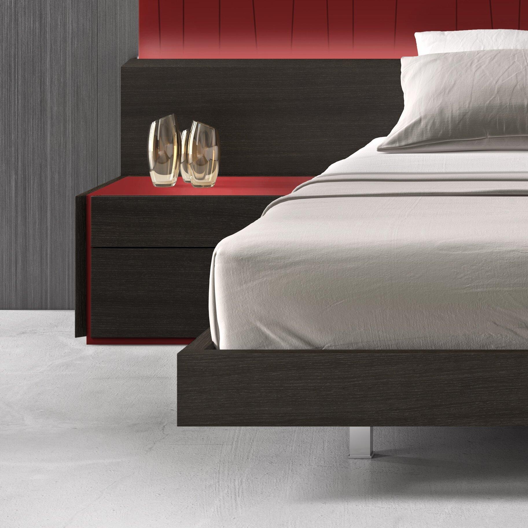 J M Furniture Lagos Platform Customizable Bedroom Set Reviews