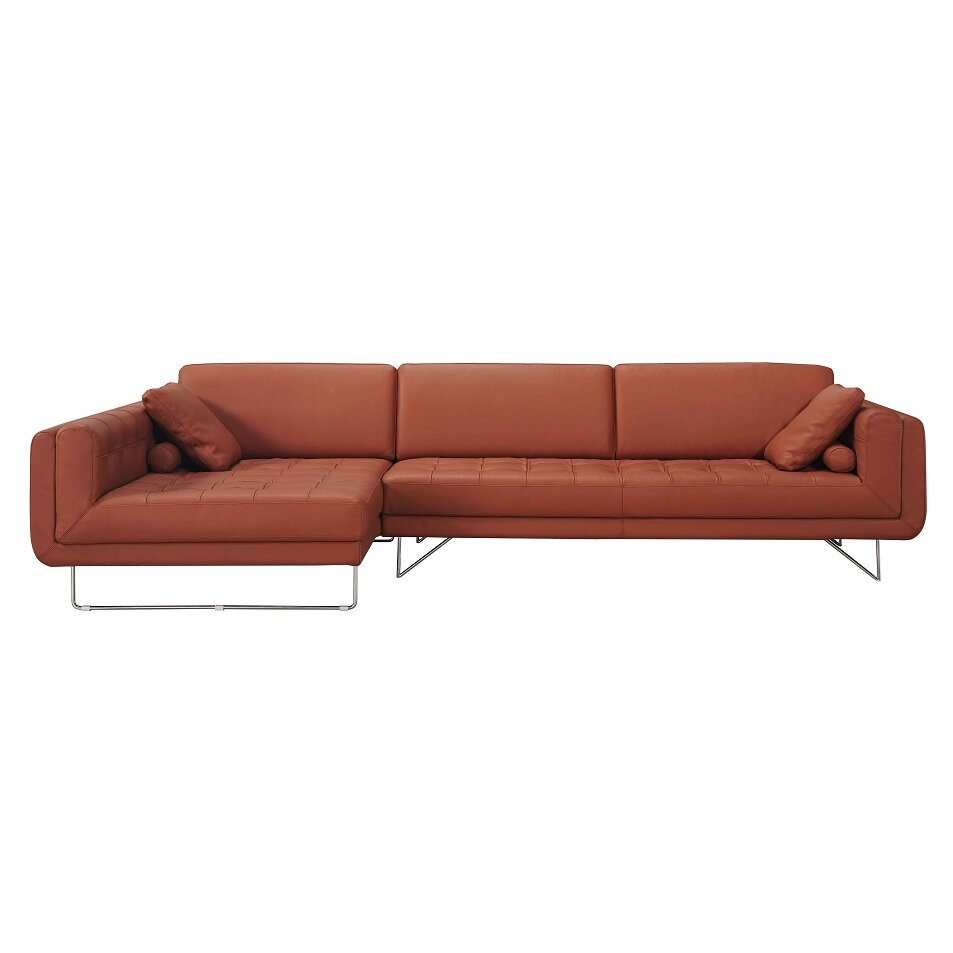 Inflatable Sofa Malta: J&M Furniture Hampton Premium Leather Sectional & Reviews