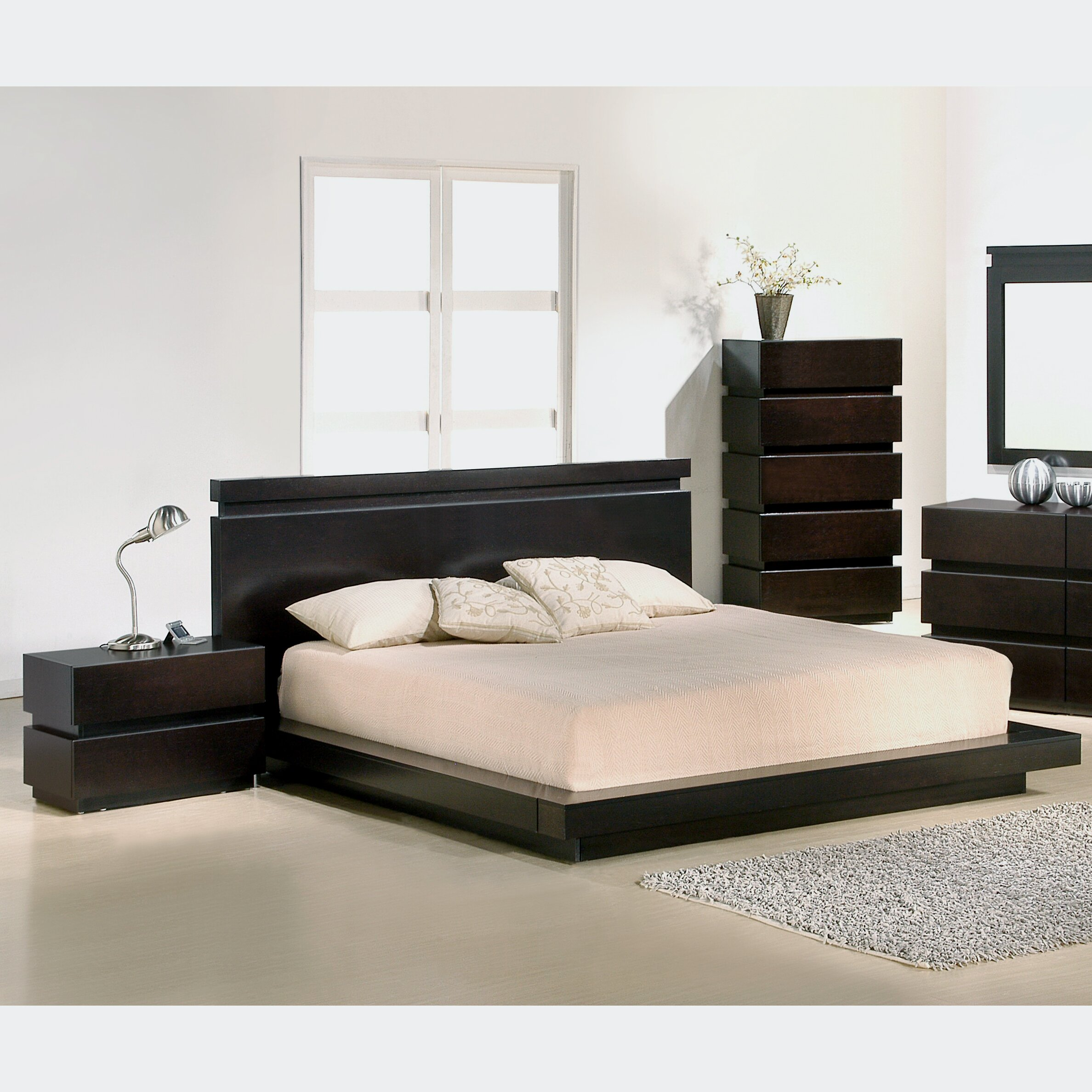 J m furniture knotch platform customizable bedroom set for M s bedroom furniture