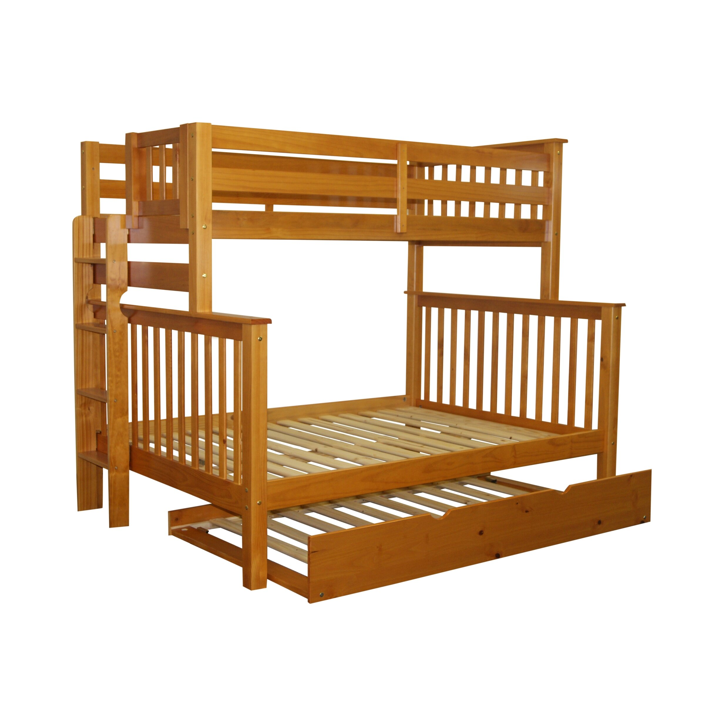 Bedz King Mission Twin Over Full Bunk Bed Amp Reviews Wayfair