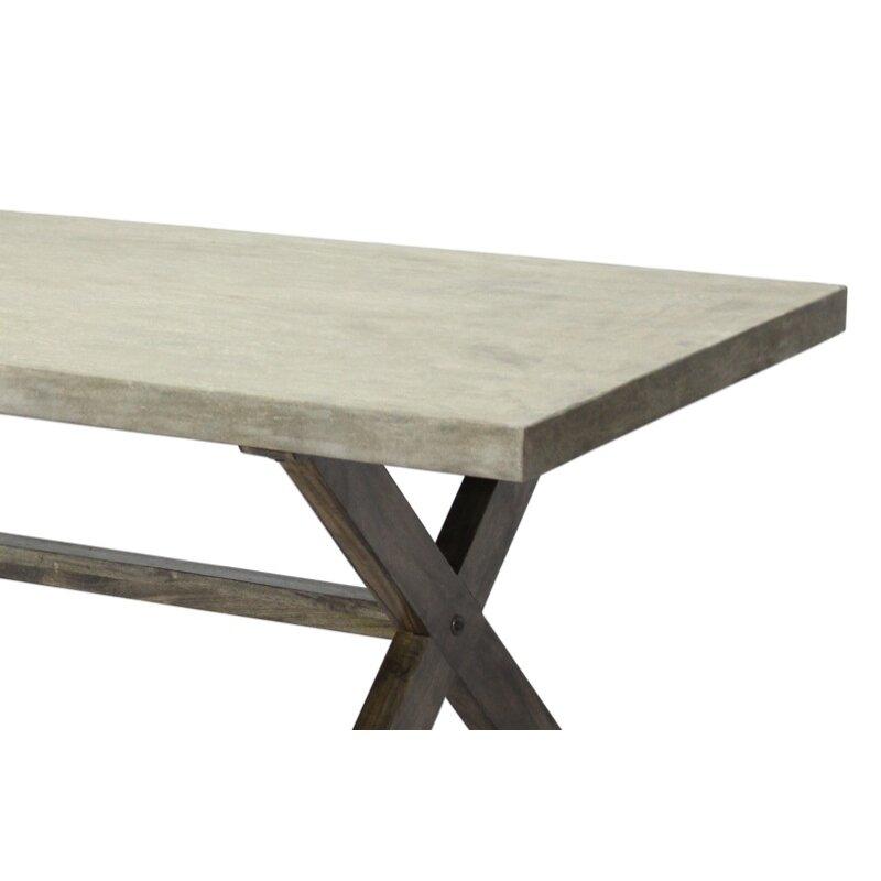 CDI International Concrete Dining Table Reviews Wayfair
