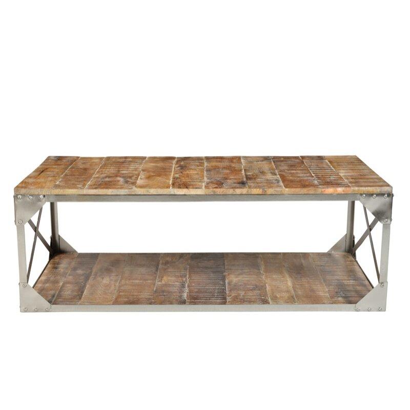 Cdi international industrial coffee table wayfairca for Wayfair industrial coffee table