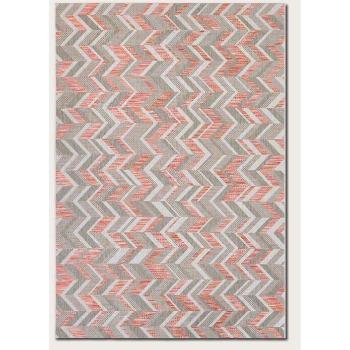 brayden studio loranger red gray area rug reviews wayfair. Black Bedroom Furniture Sets. Home Design Ideas