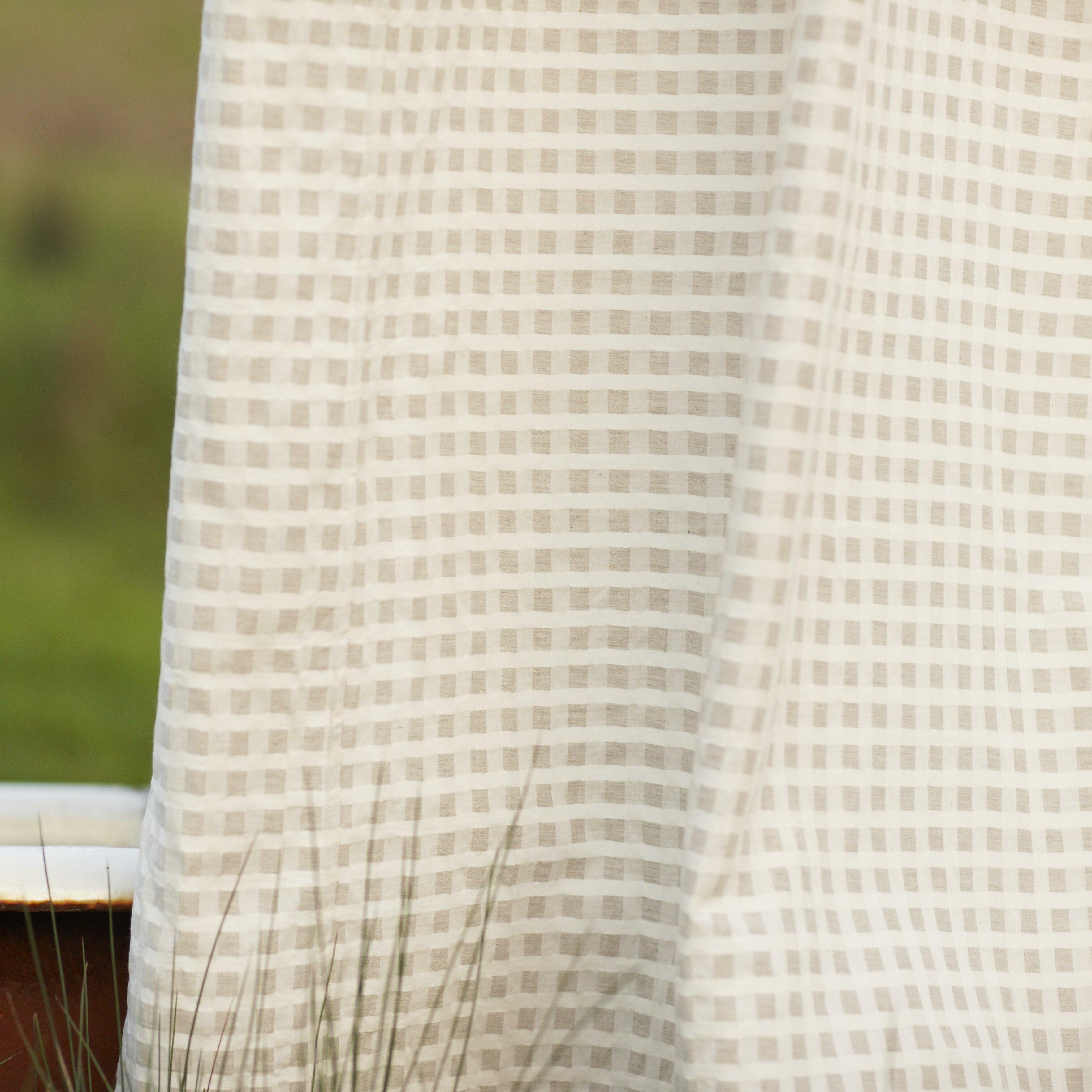 Coyuchi Birch Cotton And Linen Shower Curtain Reviews Wayfair