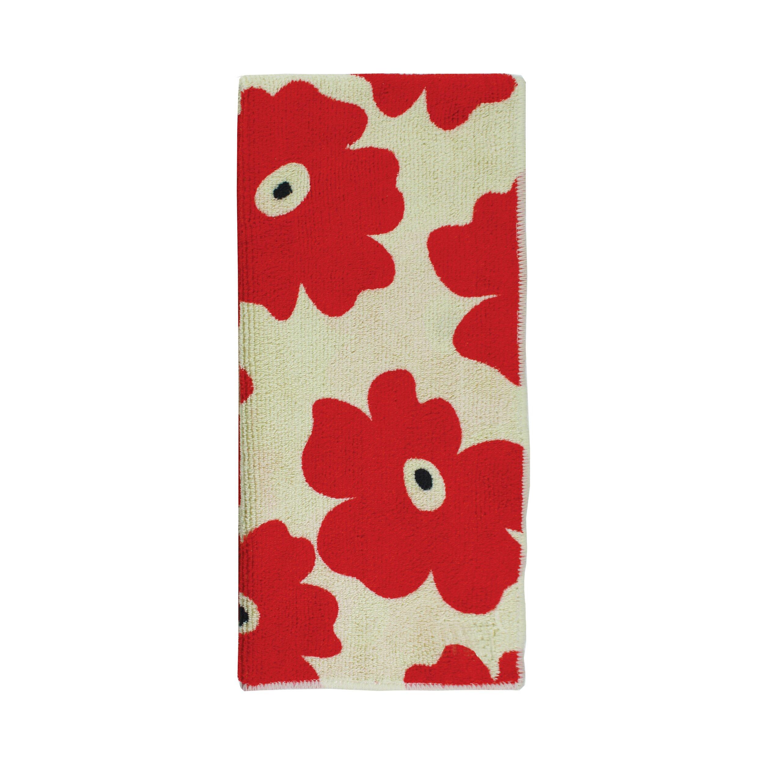 Mu Kitchen: MU Kitchen Poppy 2 Piece Dishcloth And Towel Set