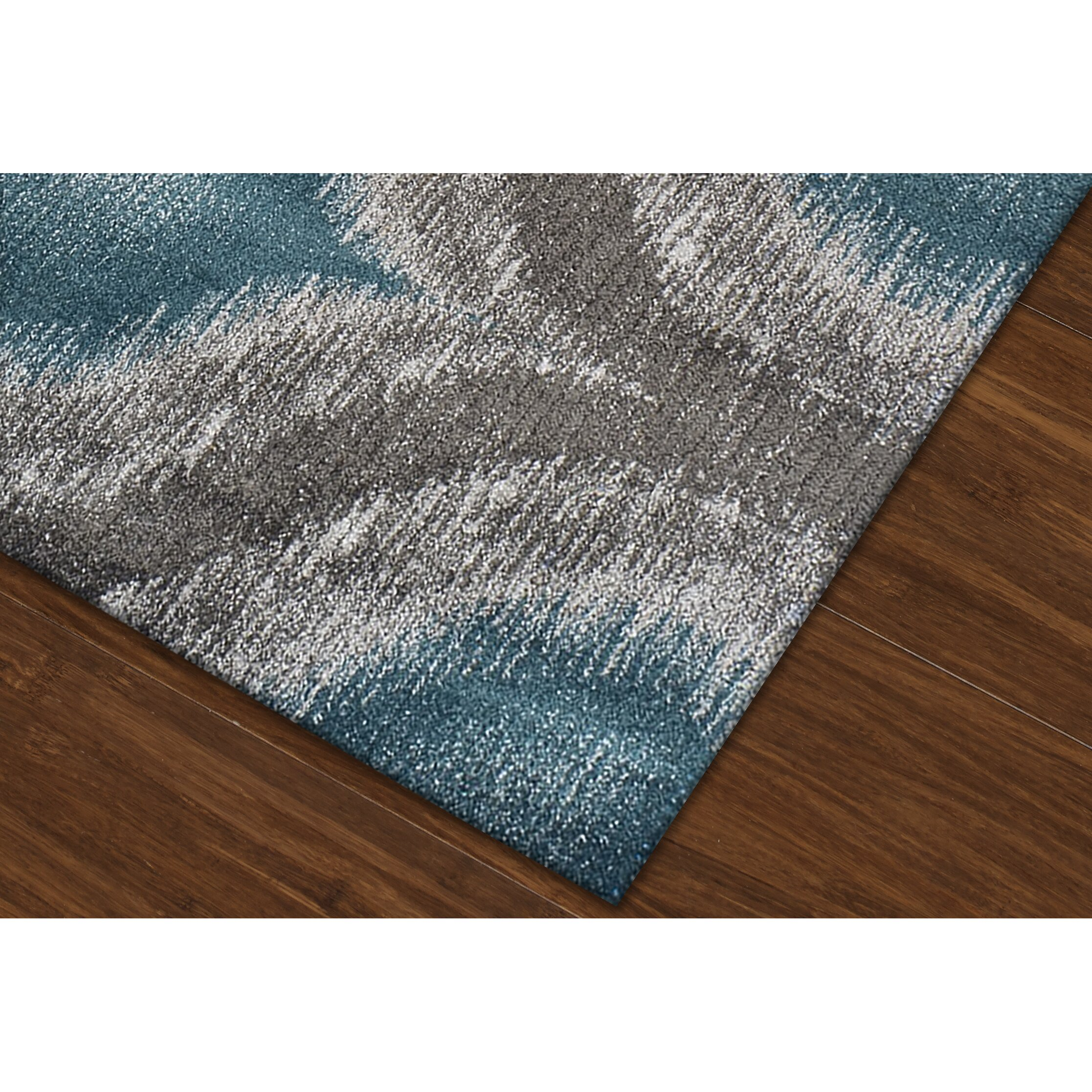 Dalyn Rug Co. Modern Greys Dalyn Teal Area Rug & Reviews