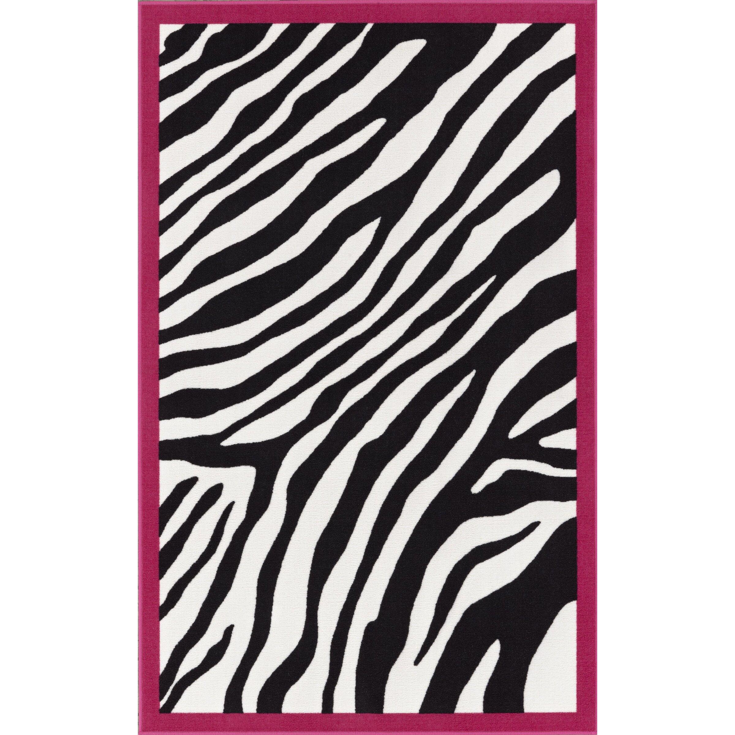 Zebra Rug Wayfair: Dalyn Rug Co. 4-Ever Young Animal Print Kids Rug & Reviews