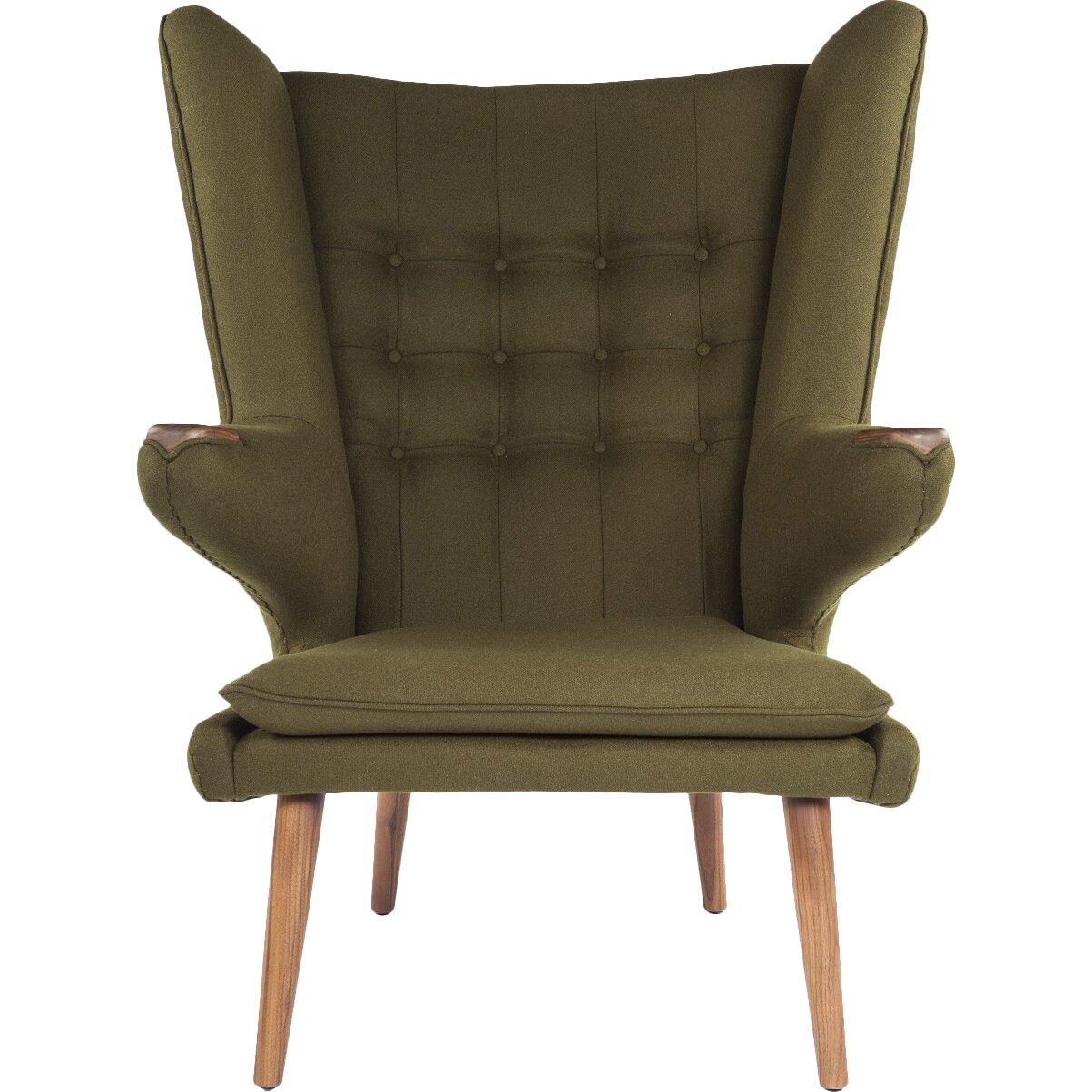 Stilnovo The Olsen Lounge Chair with Ottoman