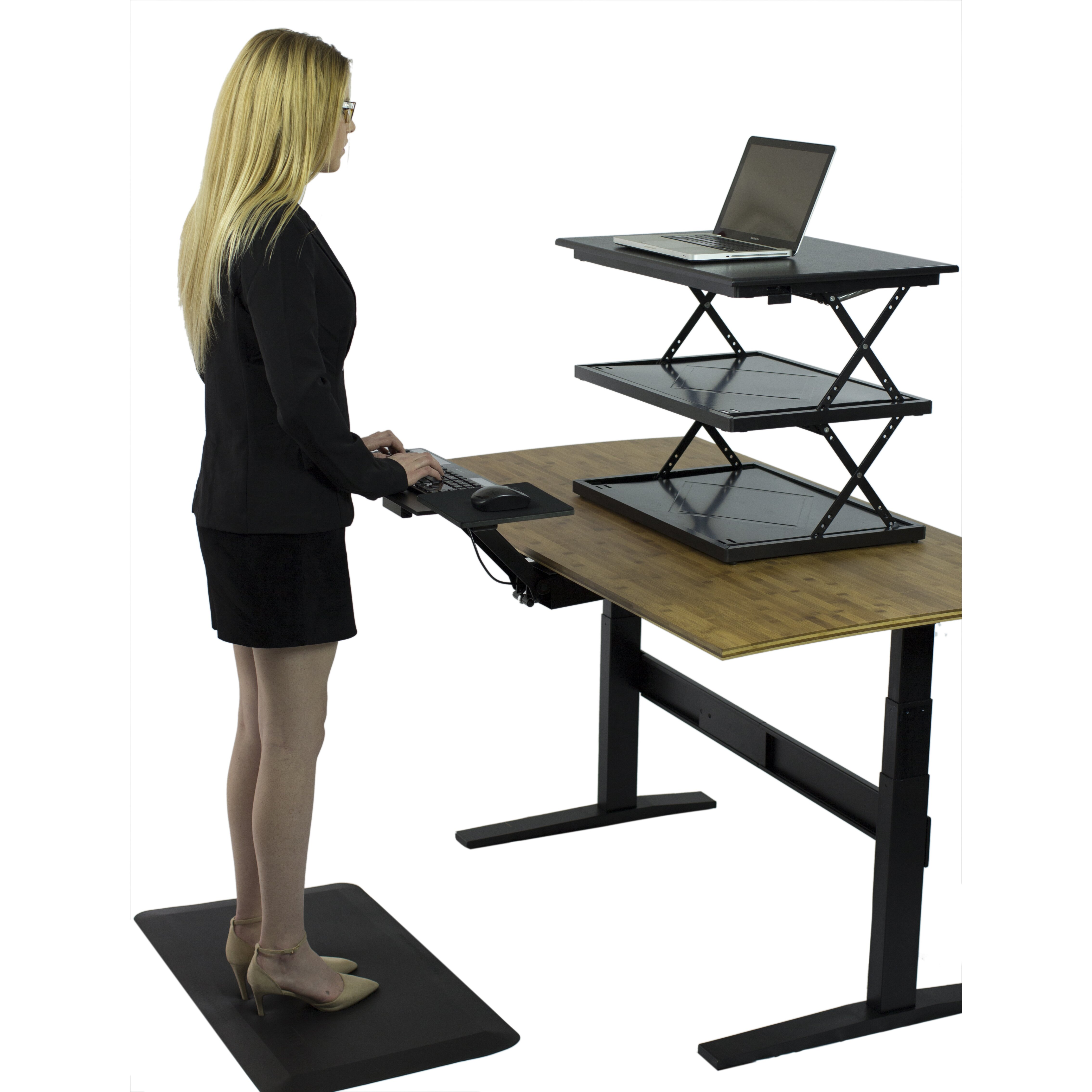 Uncaged Ergonomics Computer Keyboard Tray For Sitting And