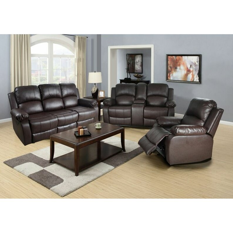 Beverly Fine Furniture Lucius 3 Piece Living Room Set