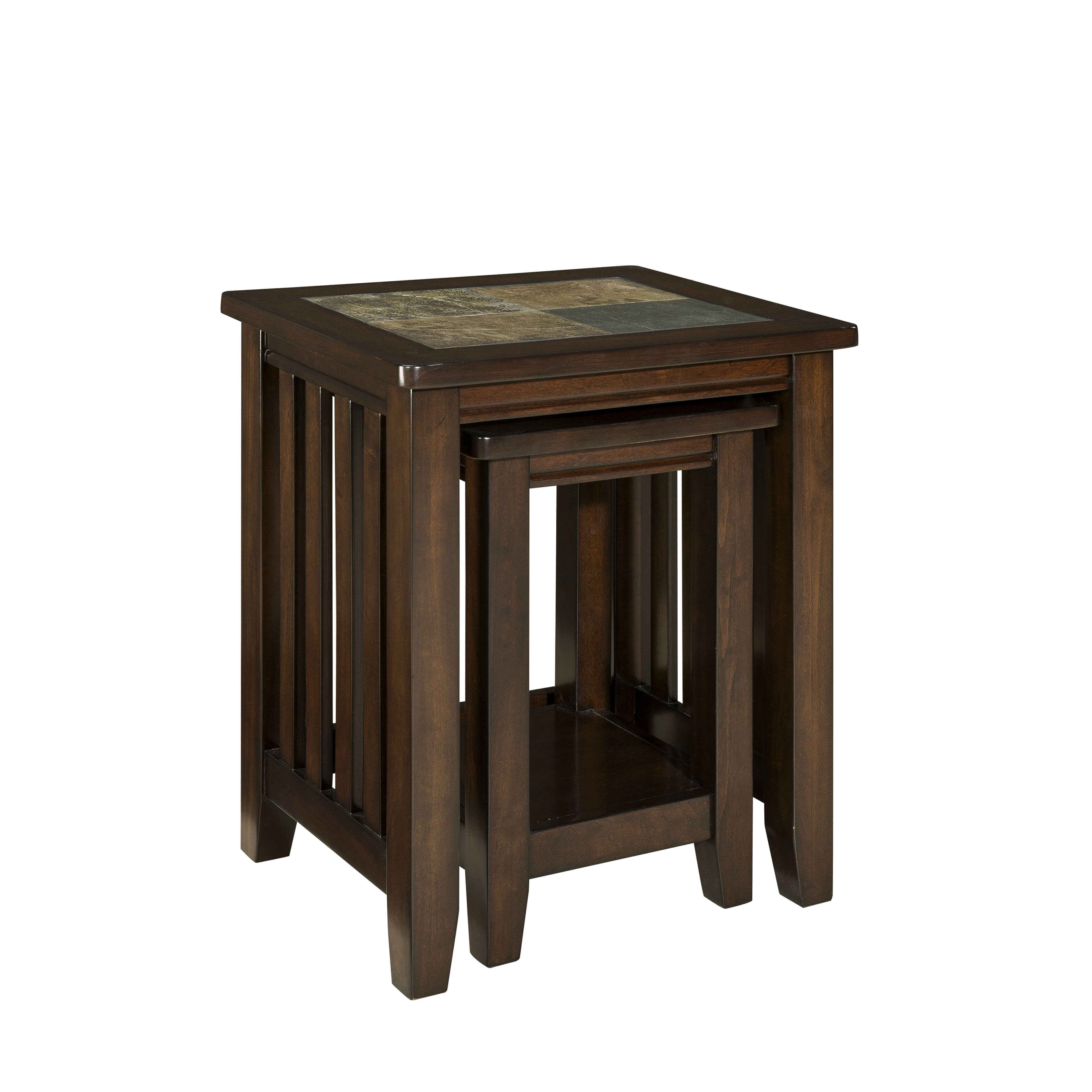 Standard furniture napa valley 2 piece nesting tables for Wayfair shop furniture