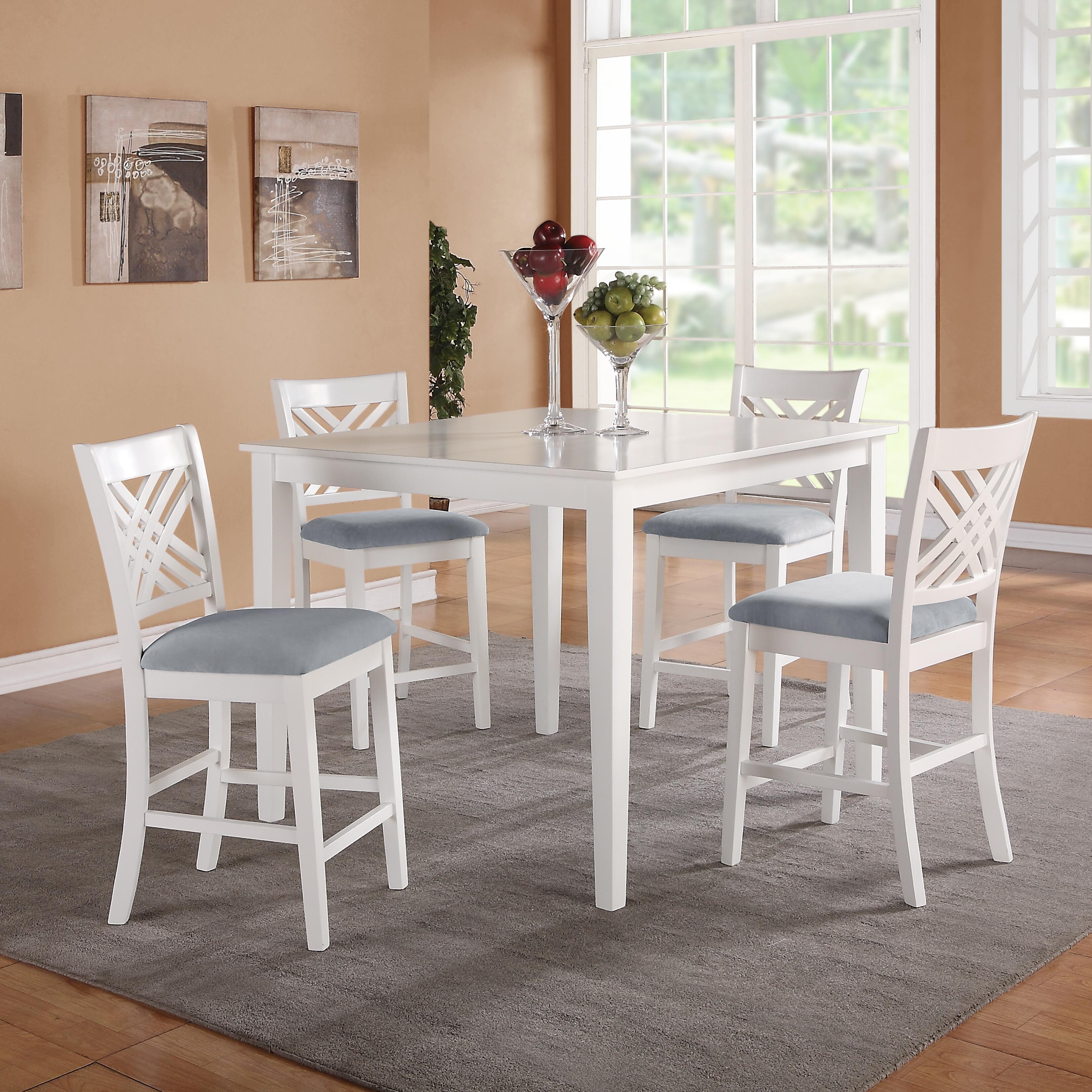 5 Chair Dining Set: Standard Furniture Brooklyn 5 Piece Dining Set