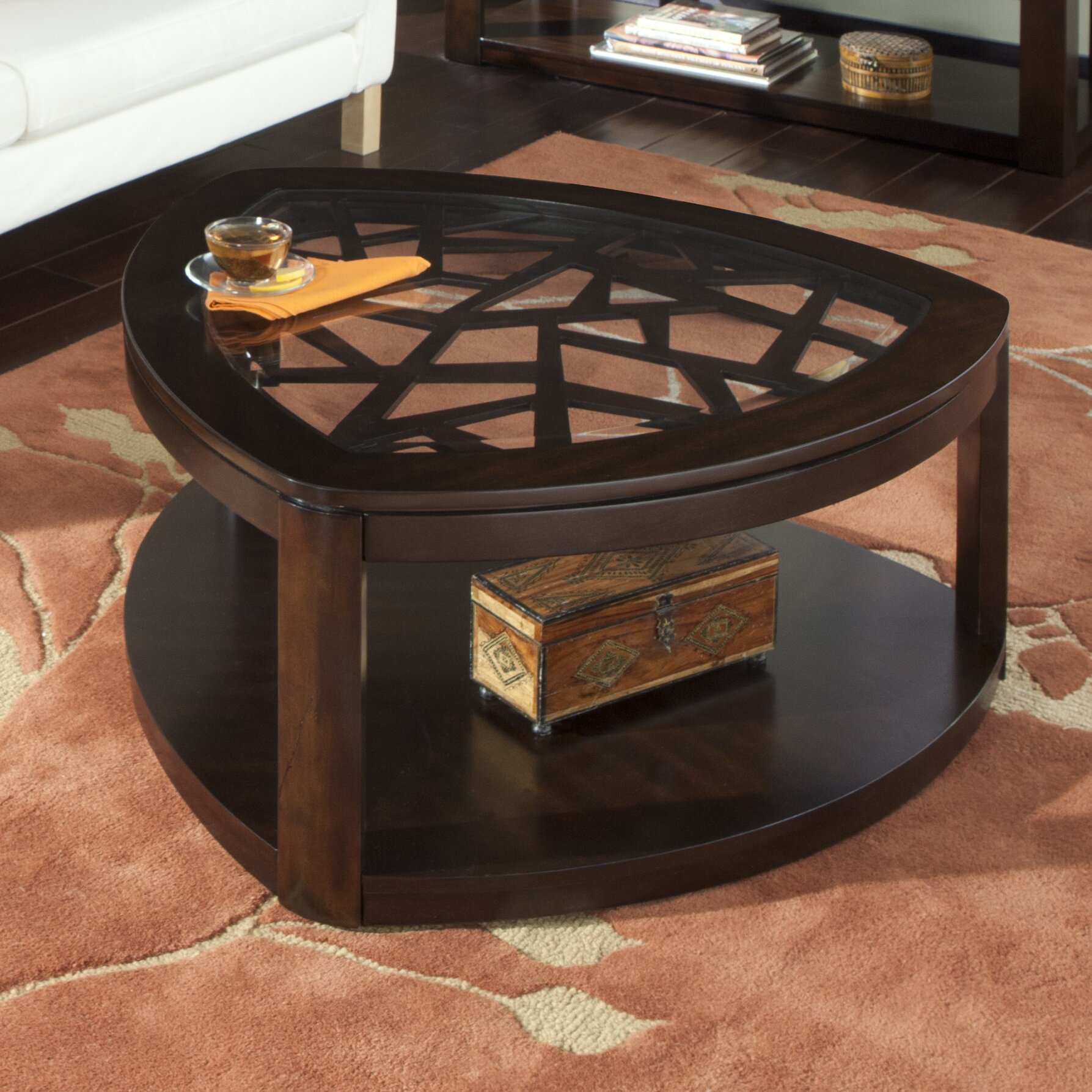 Coffee Table Jr Furniture: Standard Furniture Crackle Coffee Table & Reviews