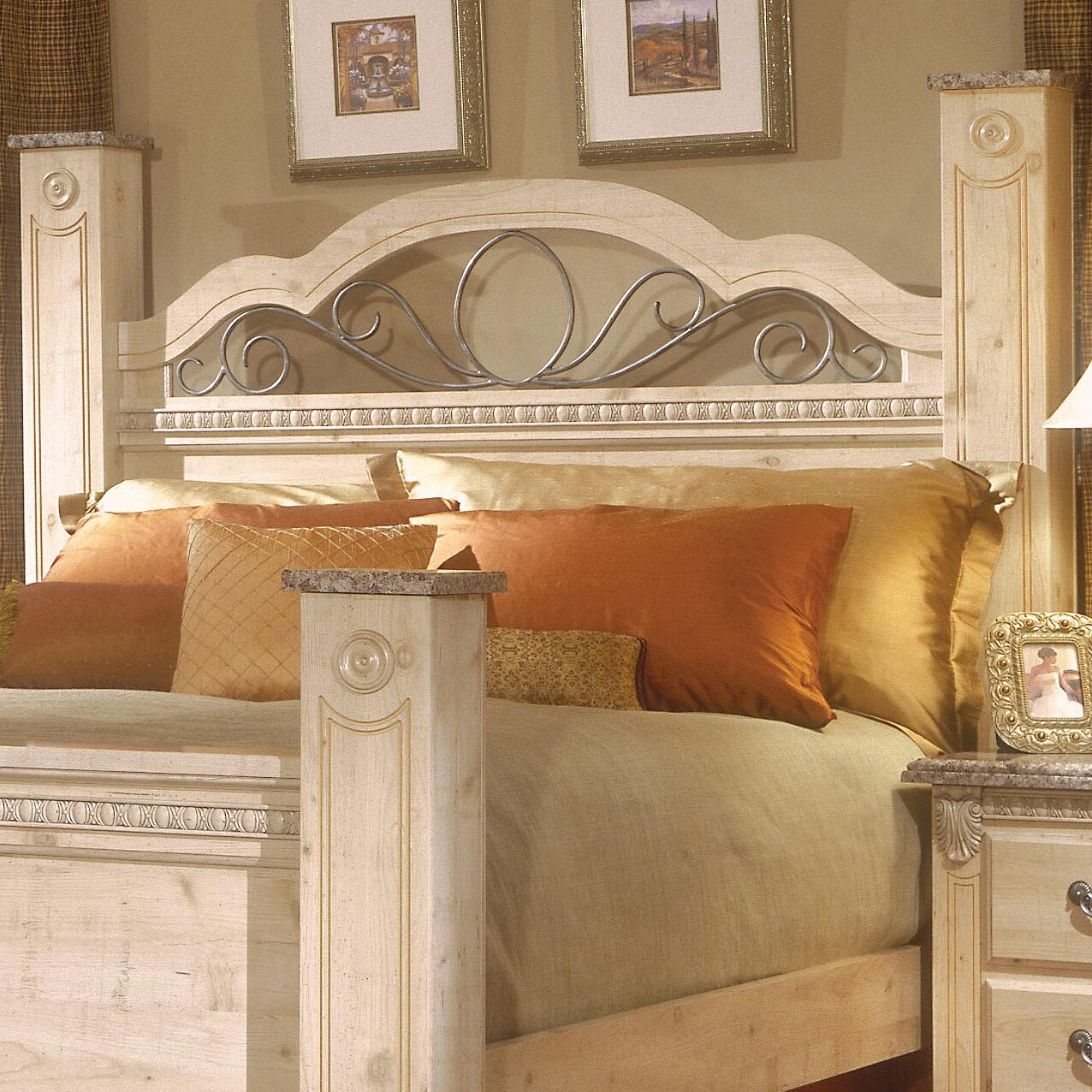 standard furniture seville panel customizable bedroom set