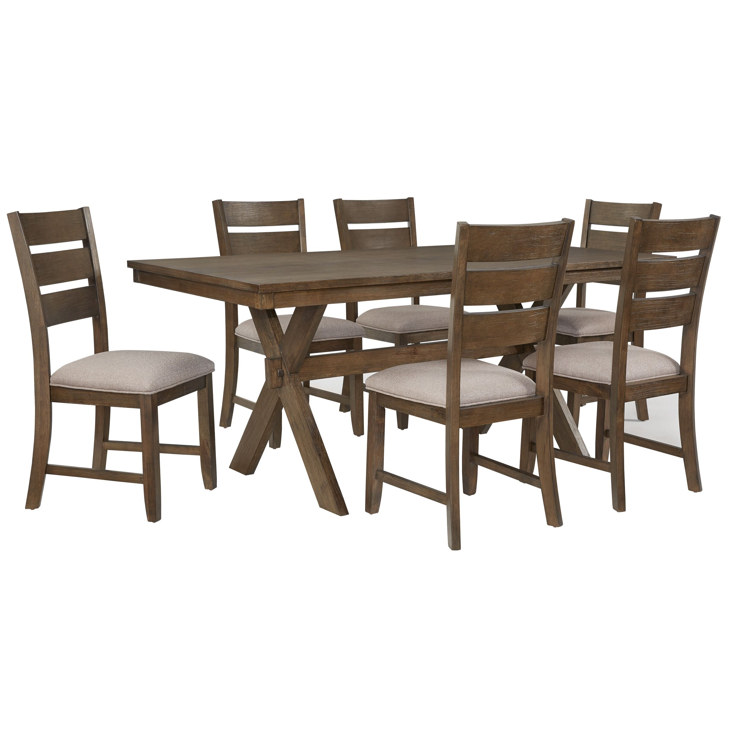Standard furniture 7 piece dining set reviews wayfair for Furniture 7 reviews