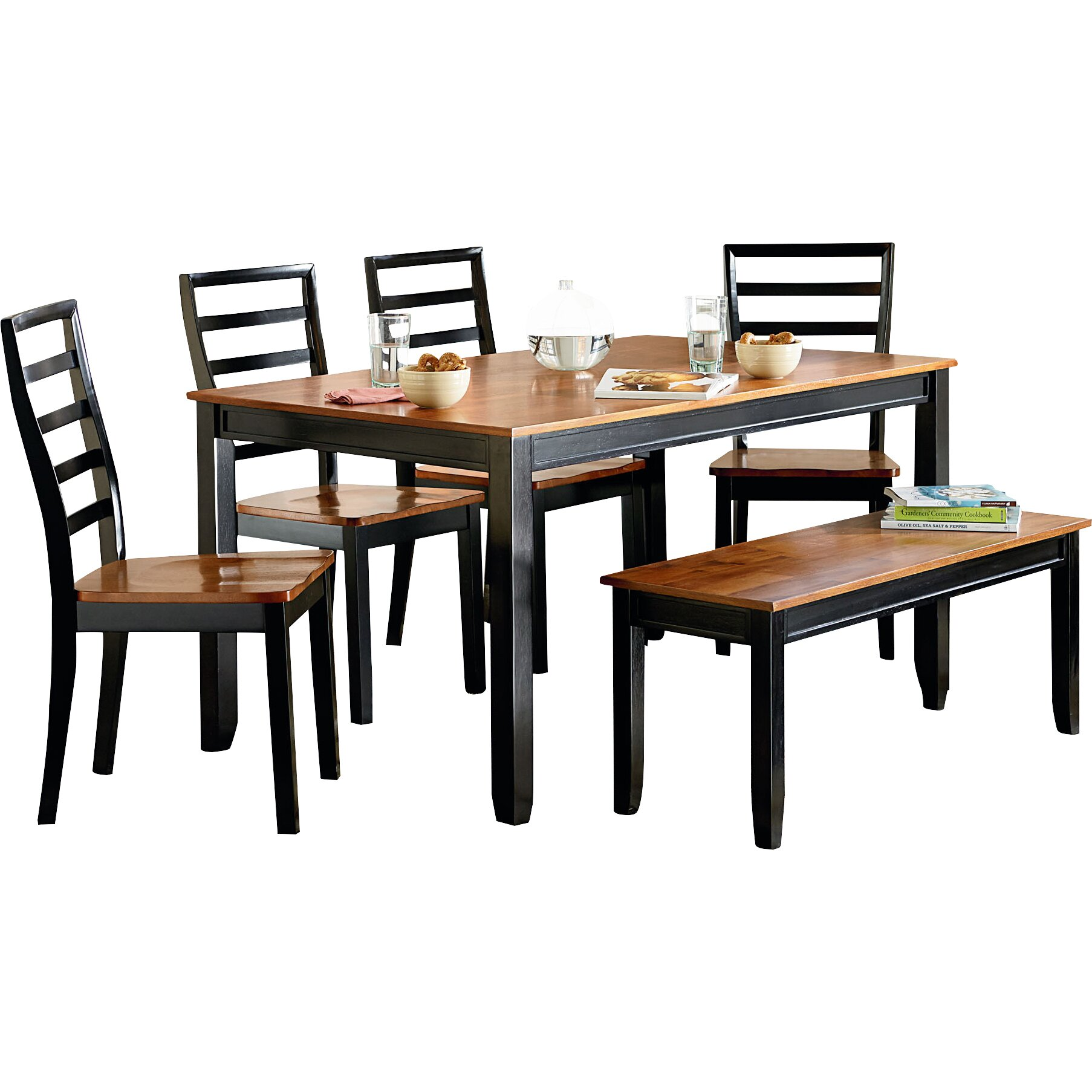 Standard furniture lexford 5 piece dining set reviews for Signoraware organise your kitchen set 8 pieces