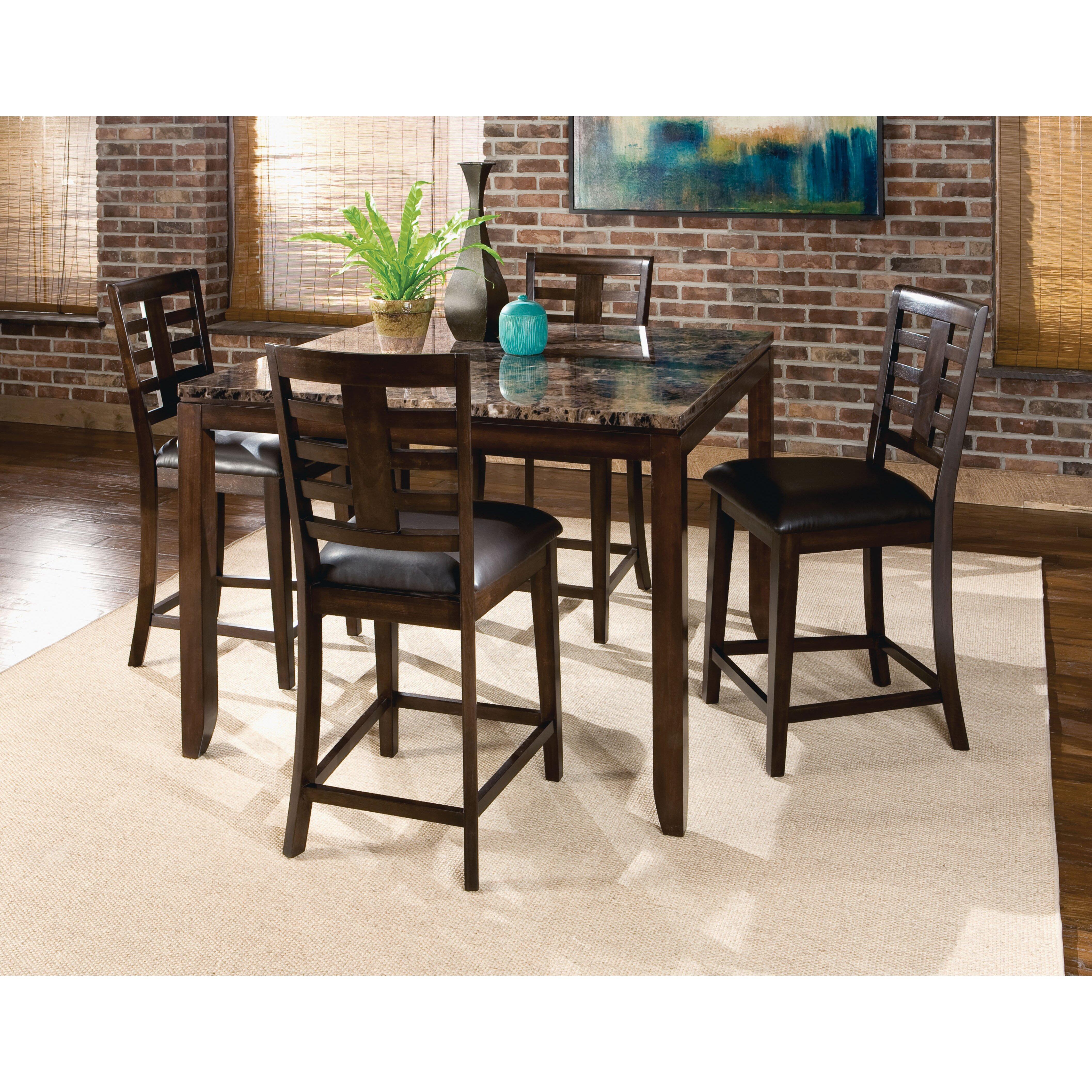Standard Furniture Dining Room Sets: Standard Furniture Bella 5 Piece Dining Set & Reviews