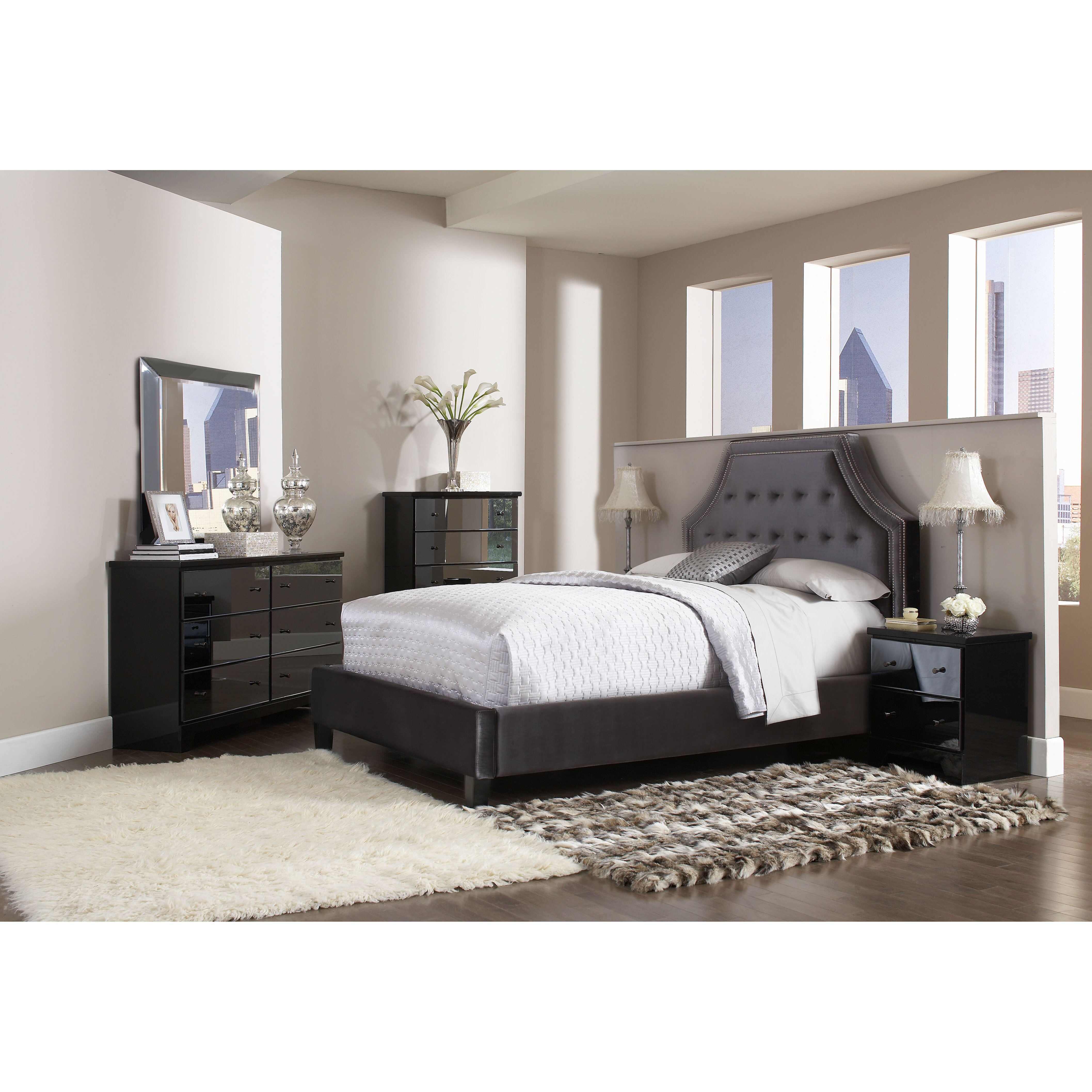 Standard Furniture Boulevard Upholstered Platform Bed Reviews Wayfair