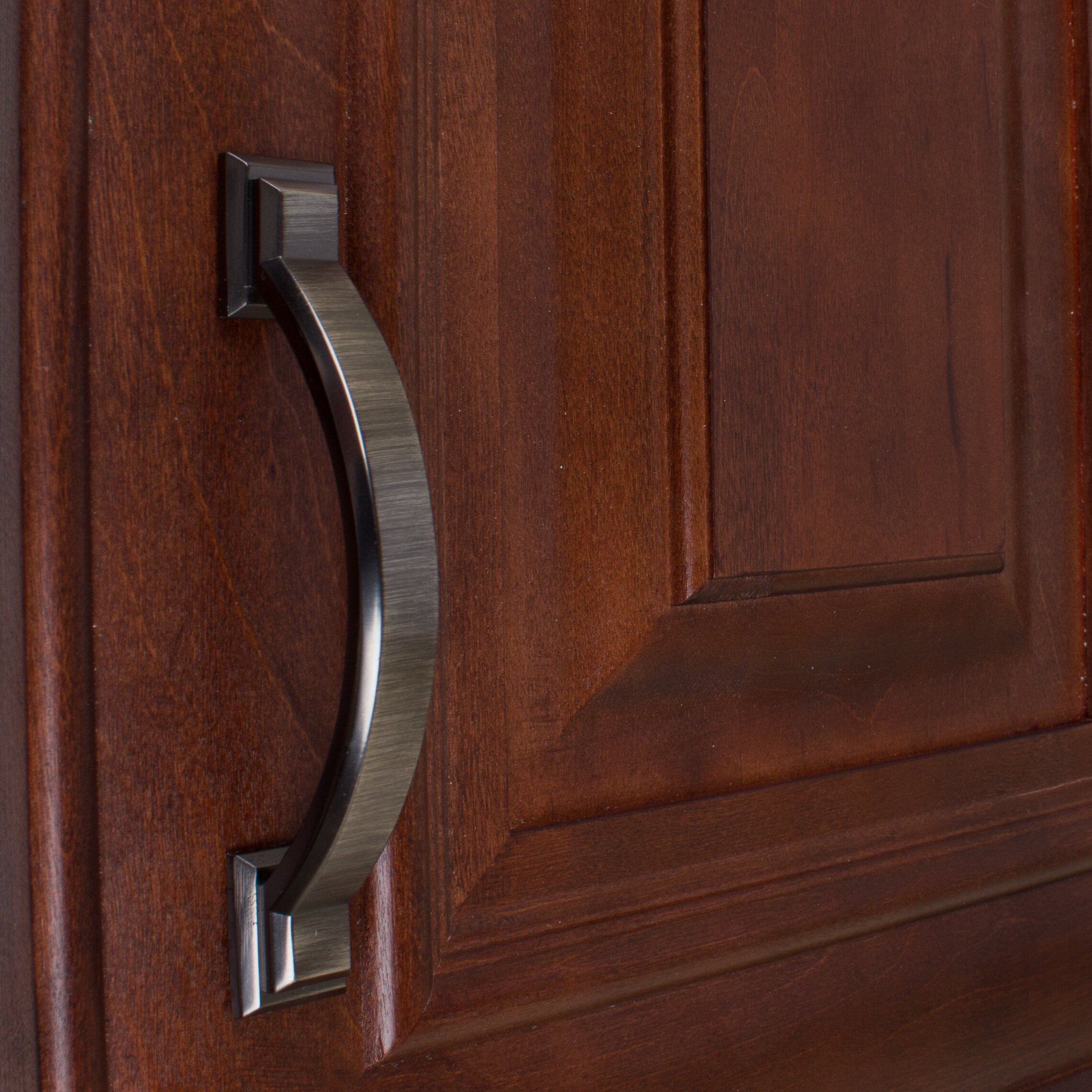 Gliderite hardware arched square cabinet 4 3 8 center for Arched cabinet pulls