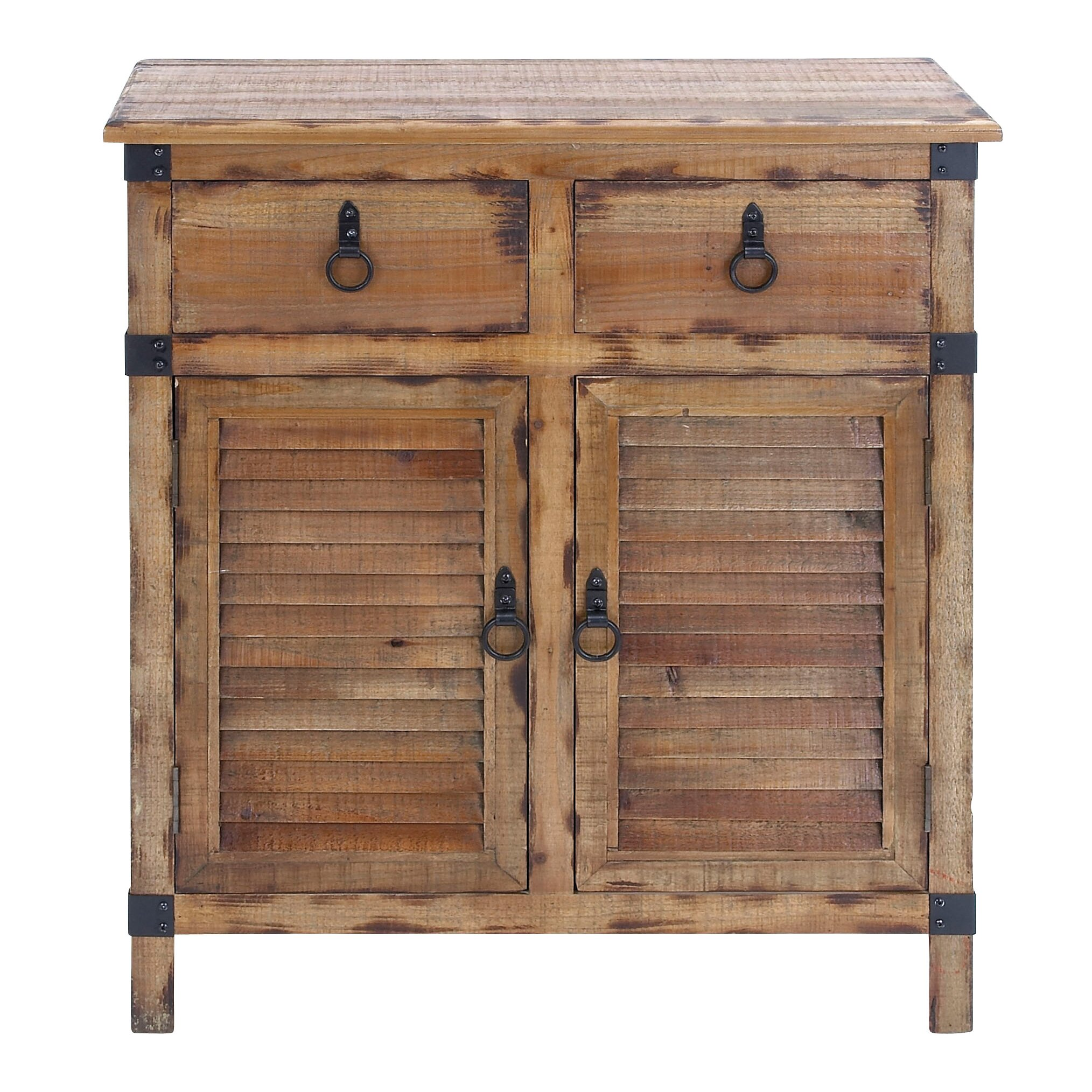 Cole grey 2 door and 2 drawer wood accent cabinet for 1 drawer 2 door cabinet
