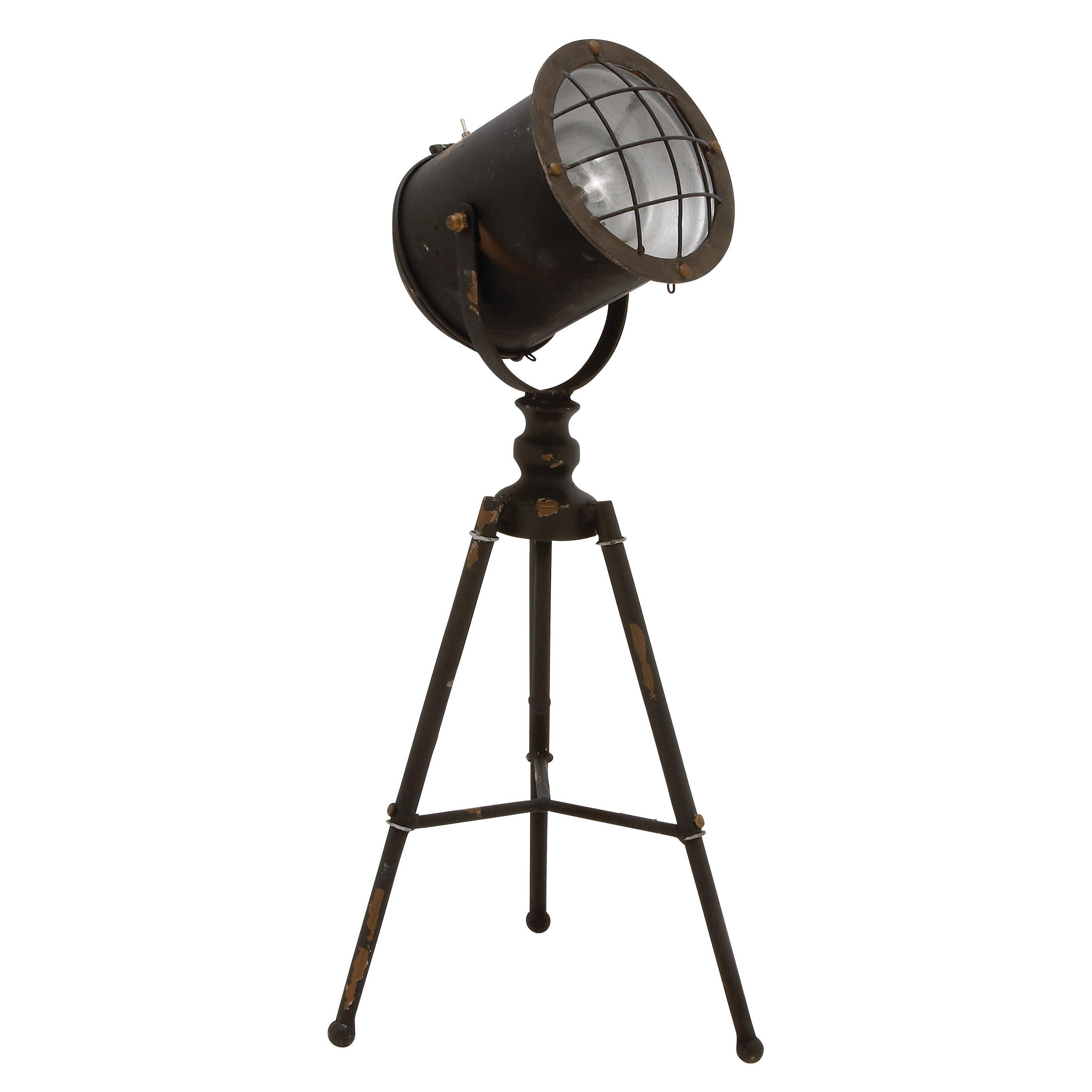 Cole grey tripod spot light 24 table lamp reviews wayfair - Tripod spotlight table lamp ...