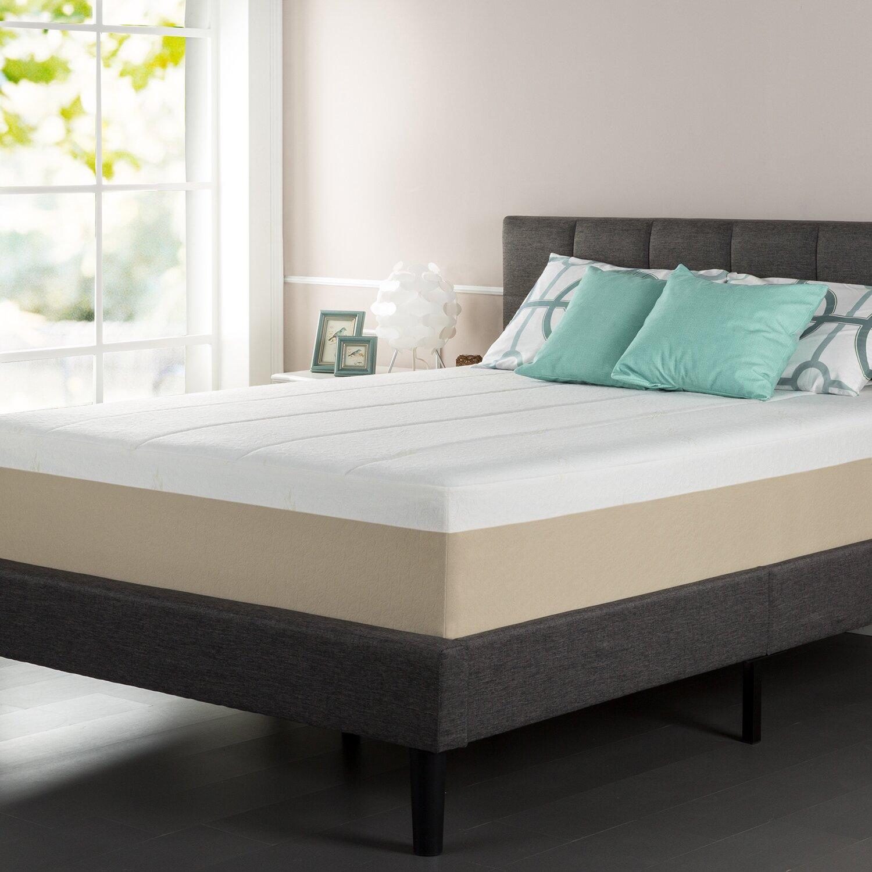 orthotherapy 14 memory foam mattress reviews wayfair. Black Bedroom Furniture Sets. Home Design Ideas