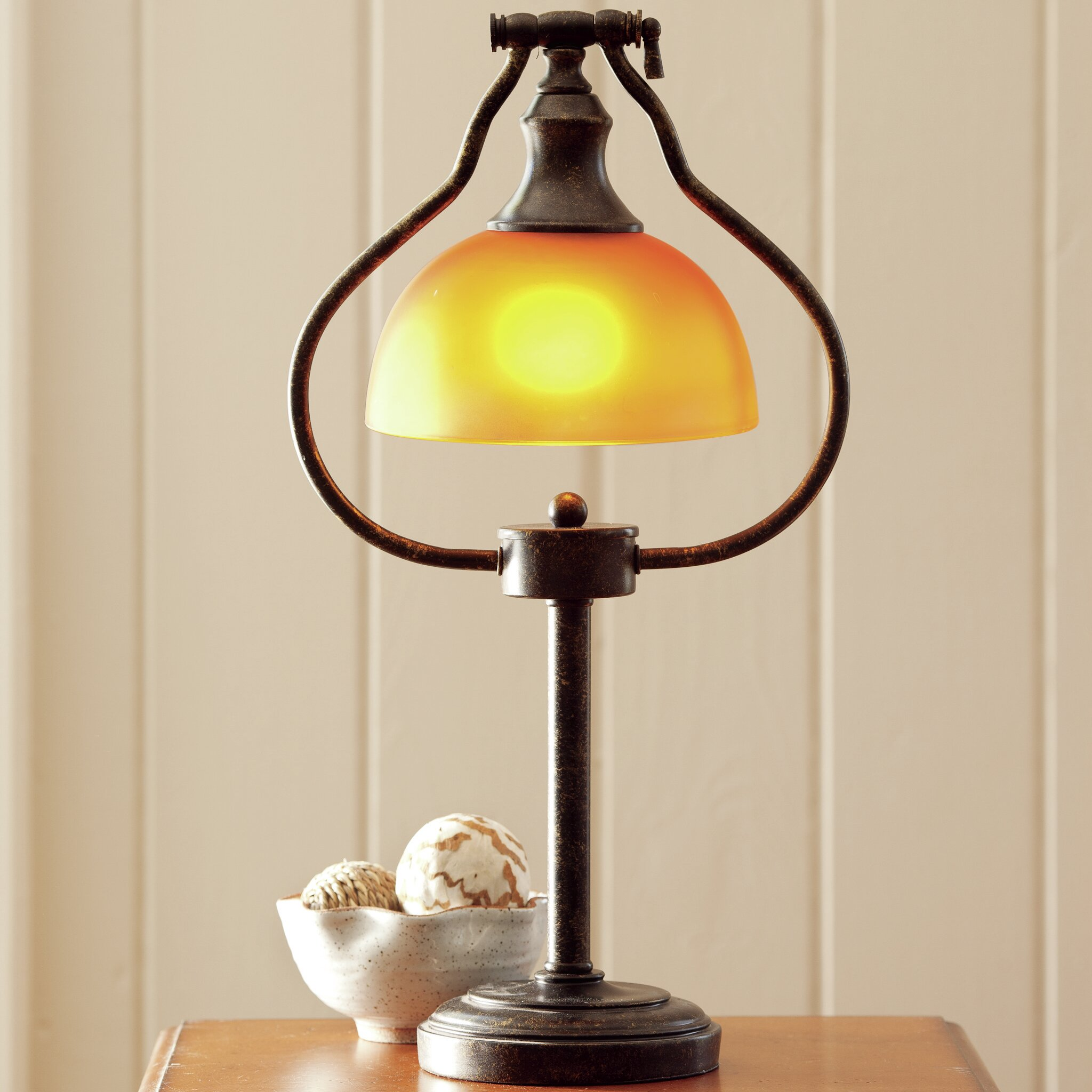 Plow Amp Hearth Library 21 25 Quot Table Lamp Amp Reviews Wayfair