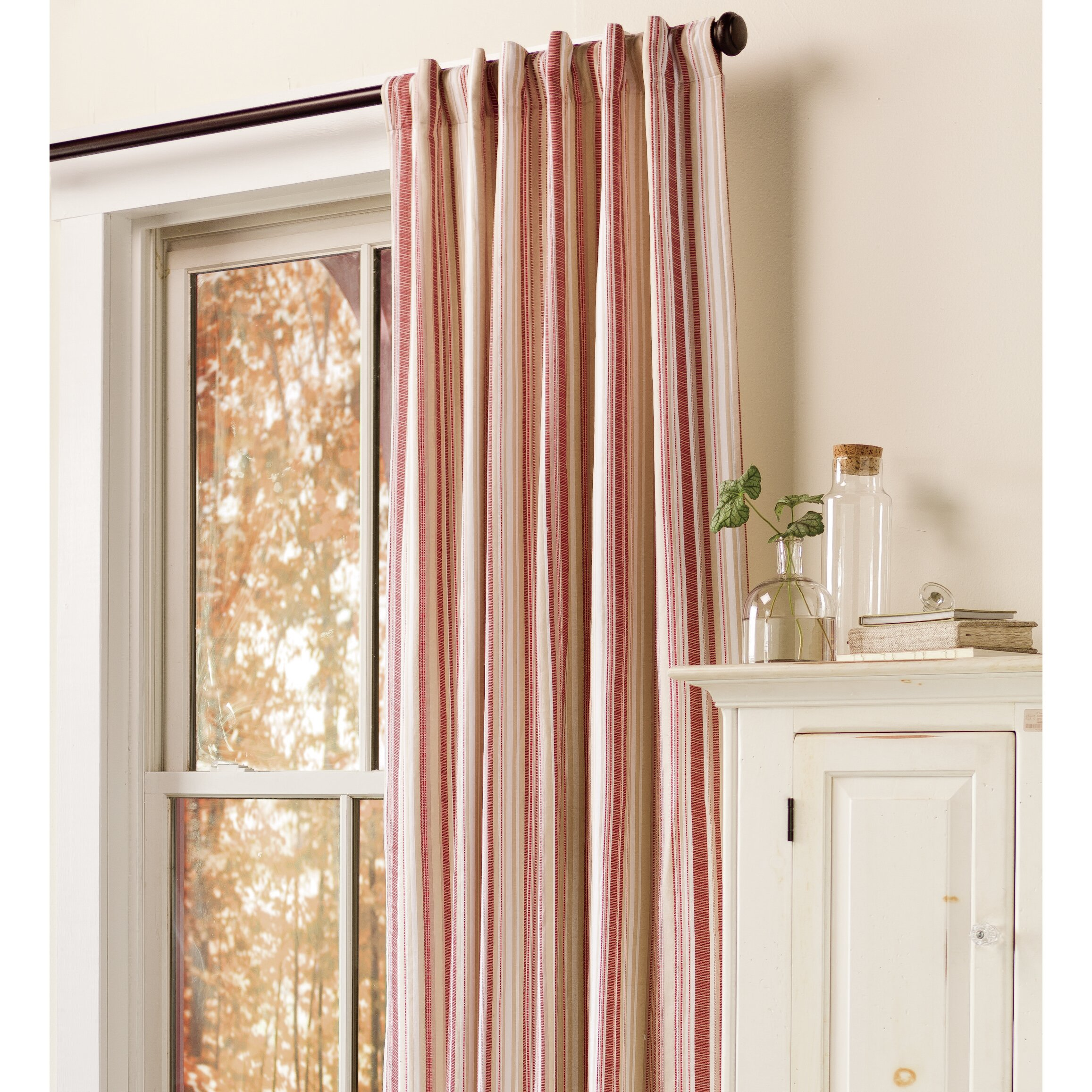 Image Result For Double Curtain Rod Valance